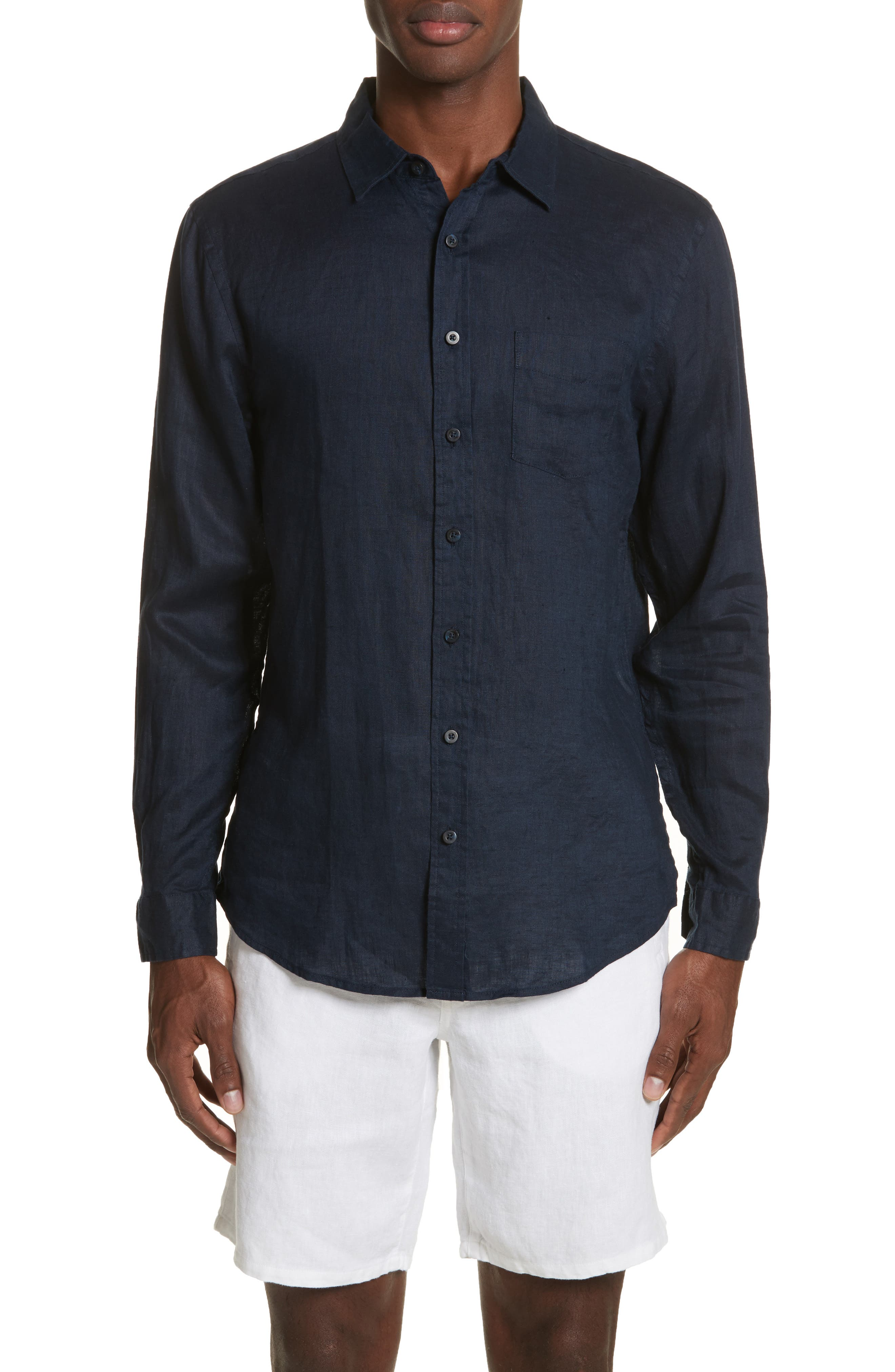 Main Image - ONIA Abe Linen Shirt