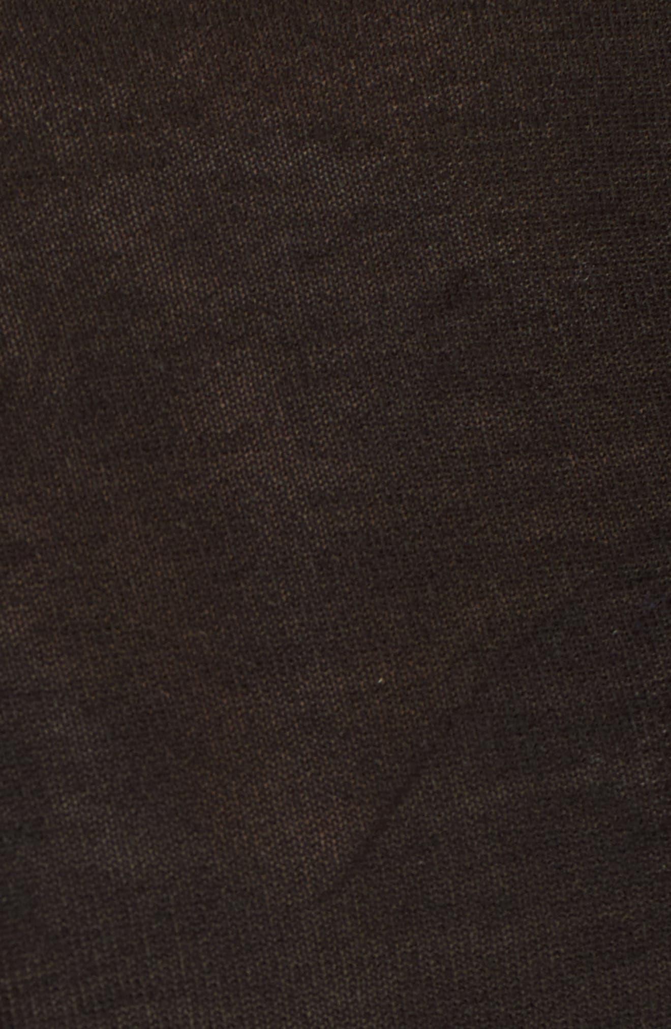 Tencel<sup>®</sup> Lyocell Knit Sweater,                             Alternate thumbnail 5, color,                             Black