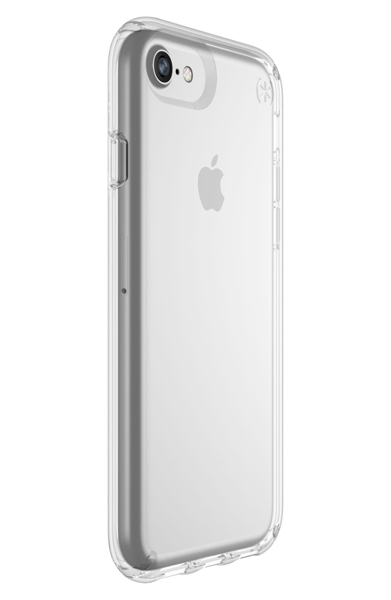 Transparent iPhone 6/6s/7/8 Case,                             Alternate thumbnail 2, color,                             Clear/ Clear
