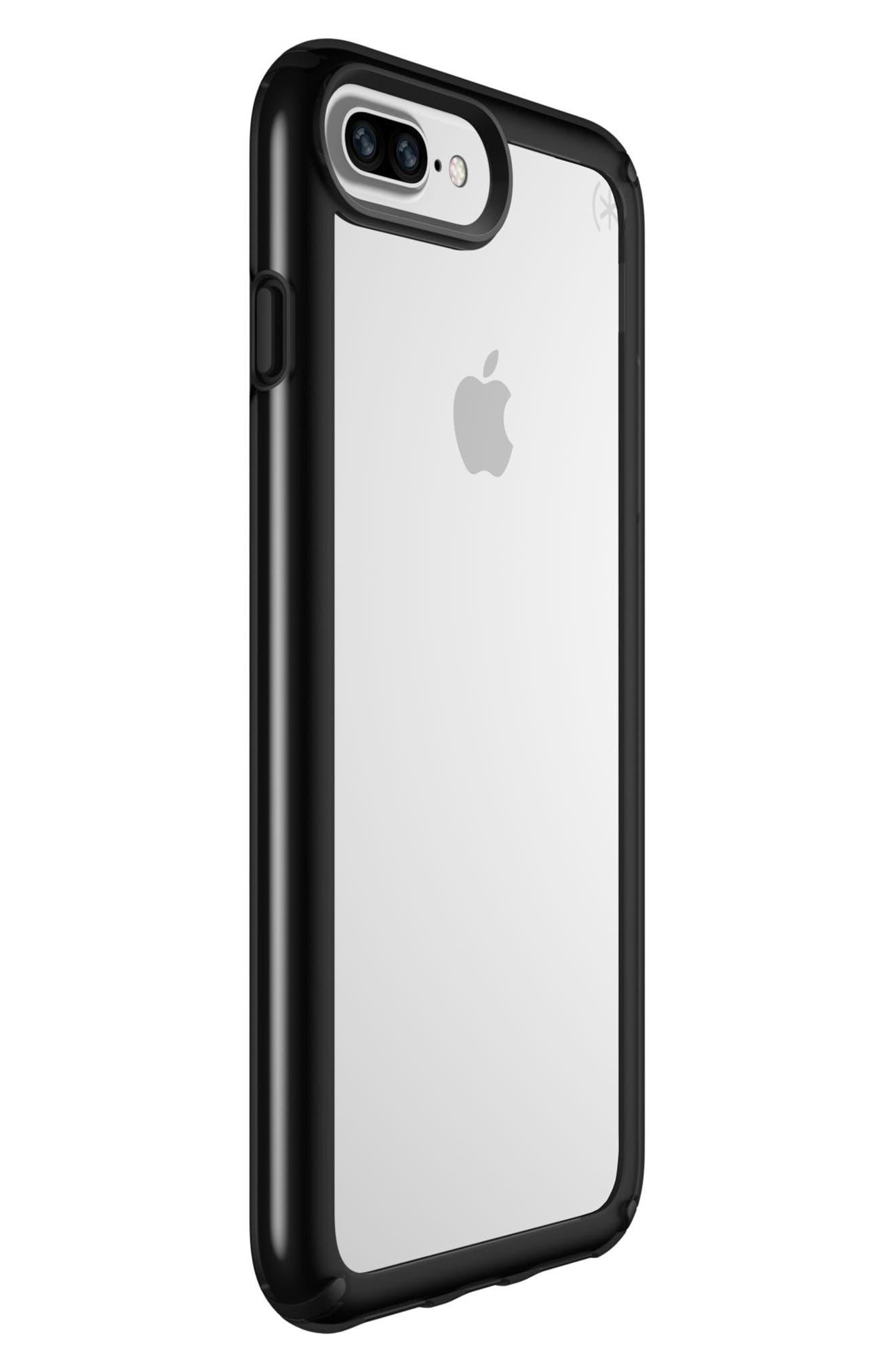 iPhone 6/6s/7/8 Plus Case,                             Alternate thumbnail 3, color,                             Clear/ Black