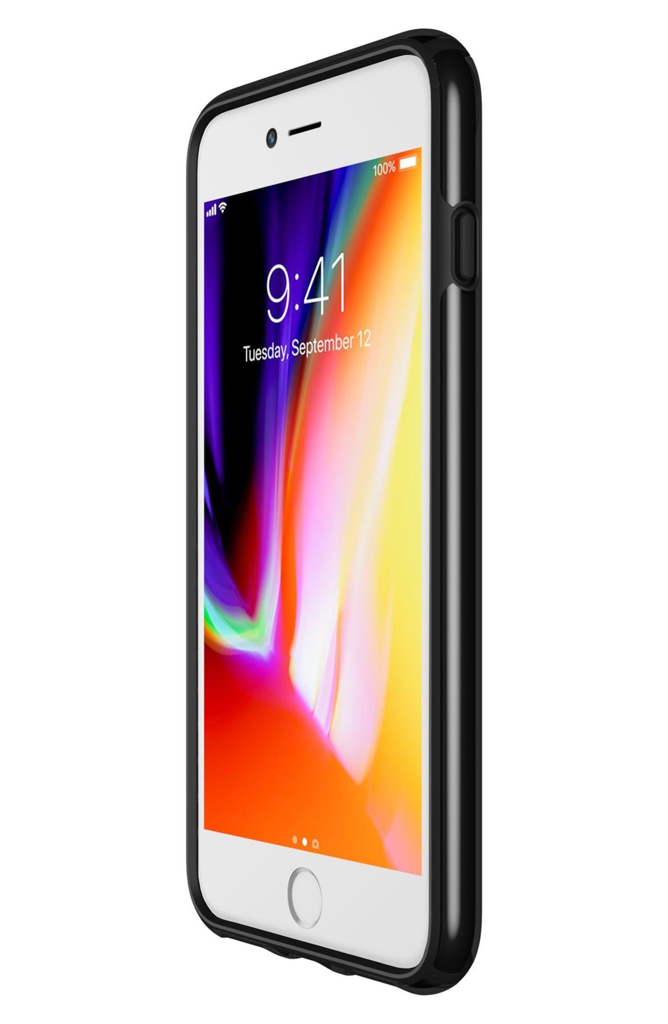 iPhone 6/6s/7/8 Plus Case,                             Alternate thumbnail 7, color,                             Clear/ Black
