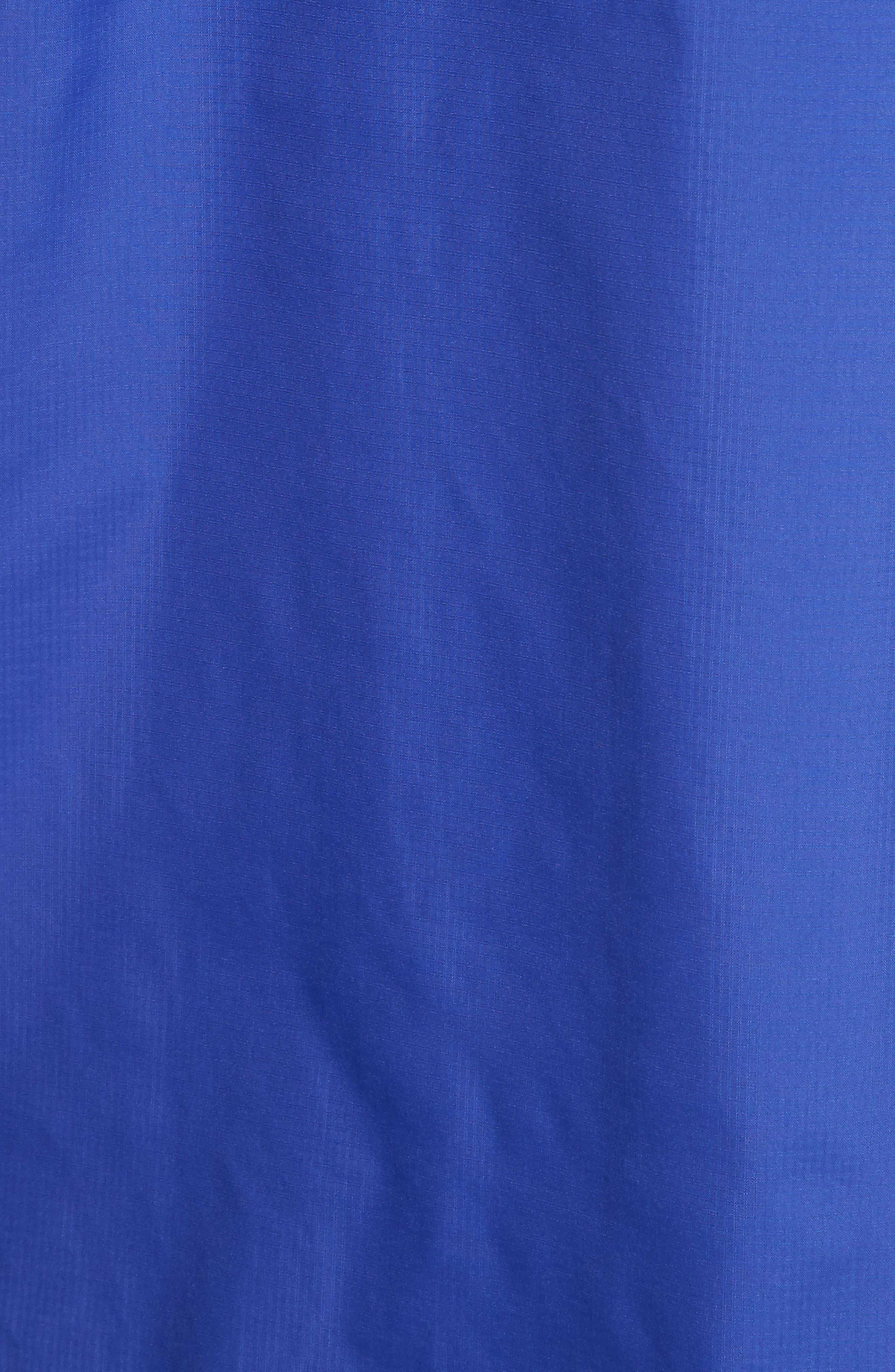 Unisex Rain Poncho,                             Alternate thumbnail 6, color,                             Lapis Blue