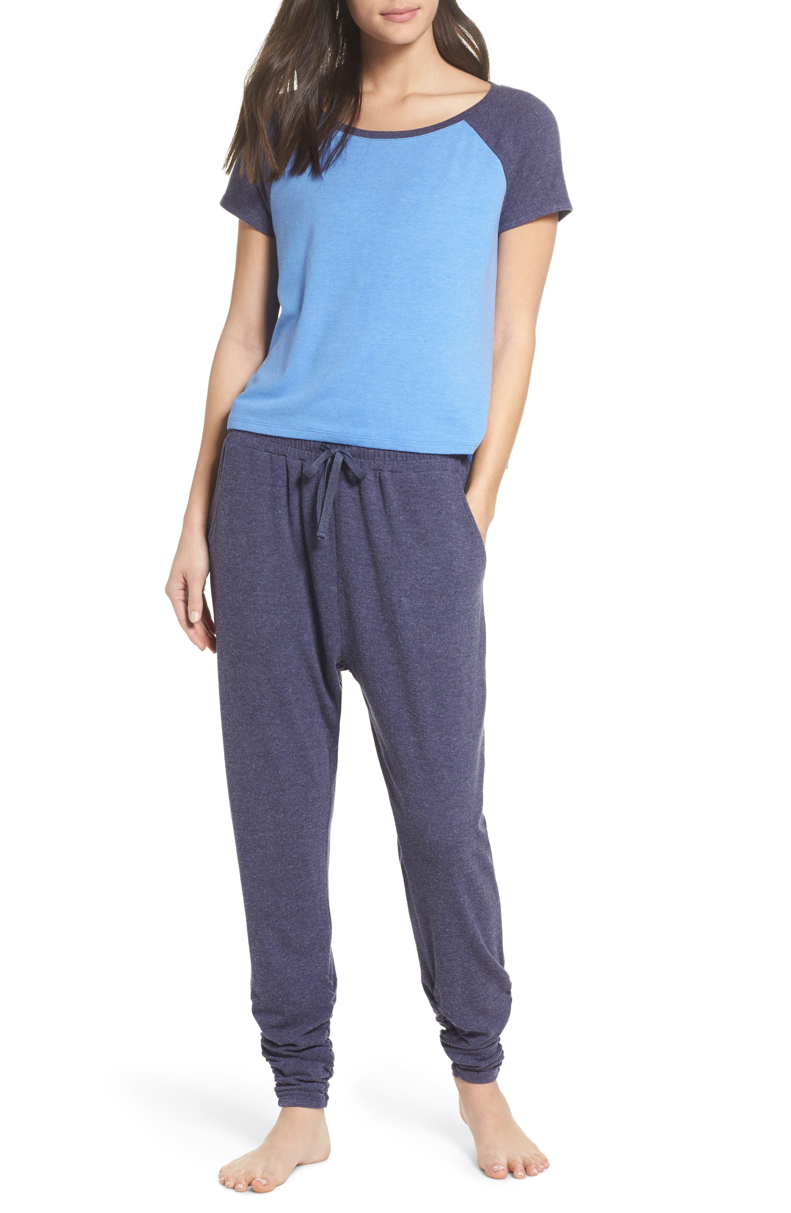 Cloud 9 Pajamas,                             Main thumbnail 1, color,                             Blue Azurite