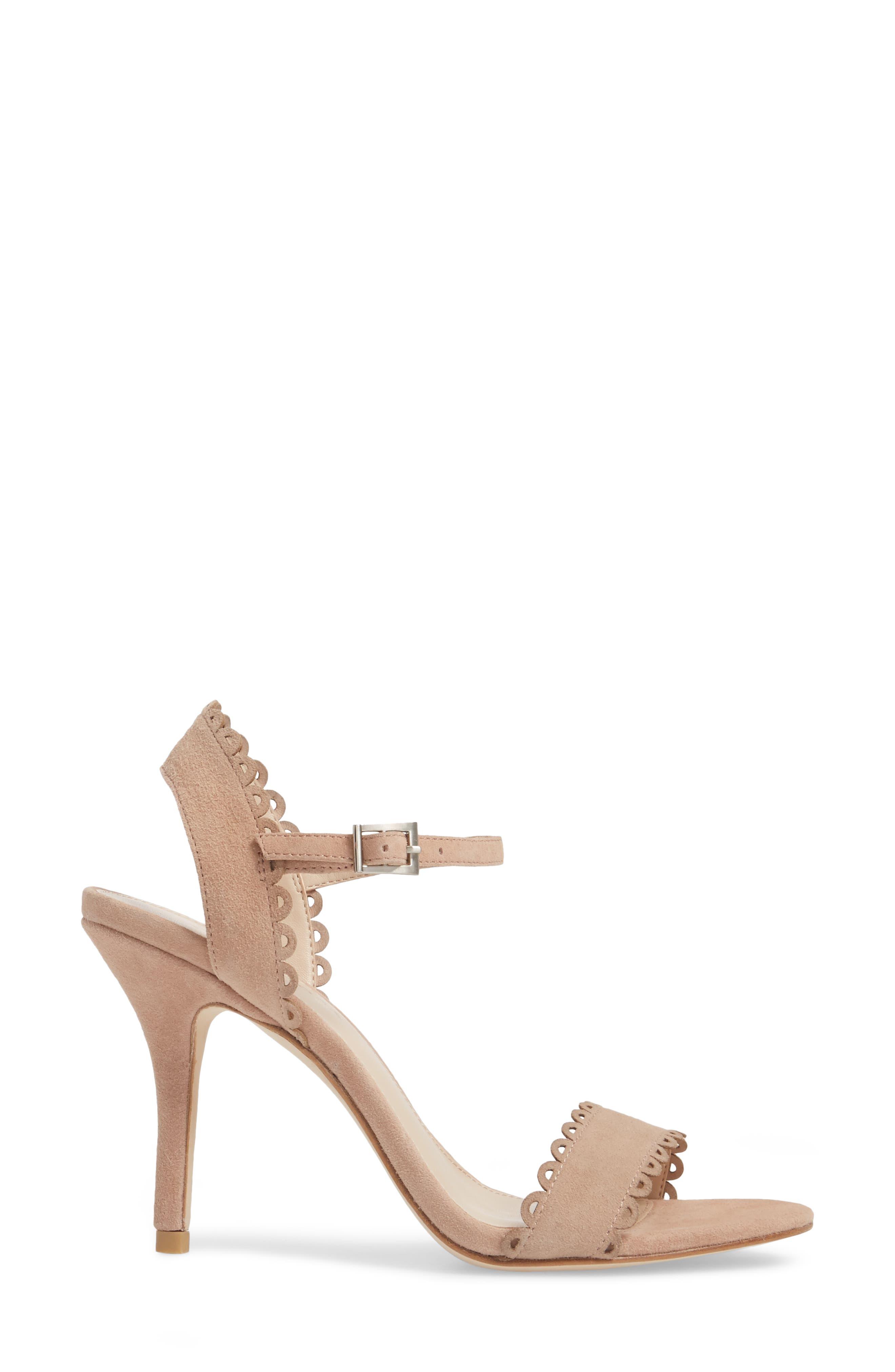 Alternate Image 3  - Pelle Moda Karen Scallop Ankle Strap Sandal (Women)