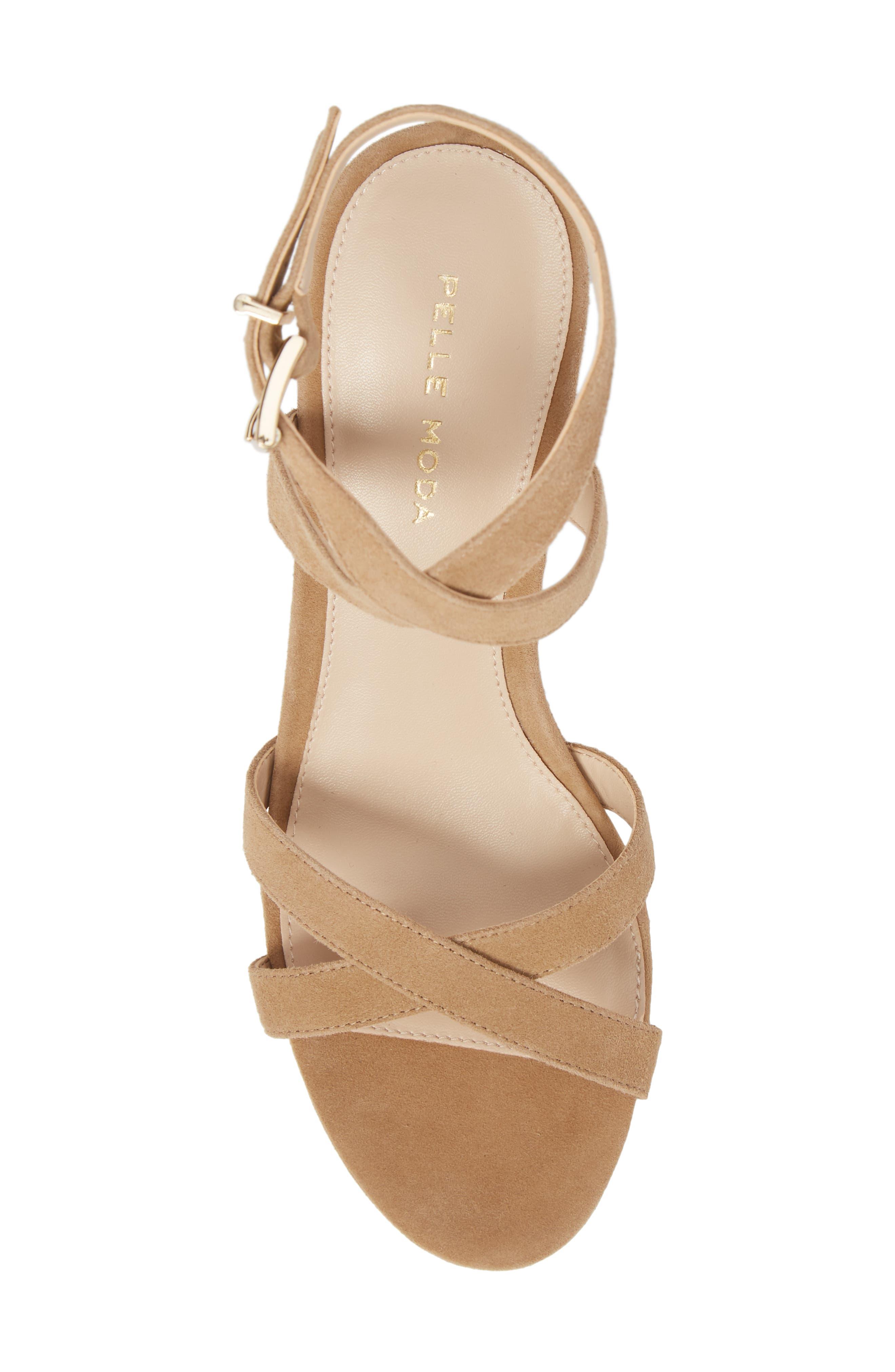 Alternate Image 5  - Pelle Moda Keo2 Platform Wedge Sandal (Women)