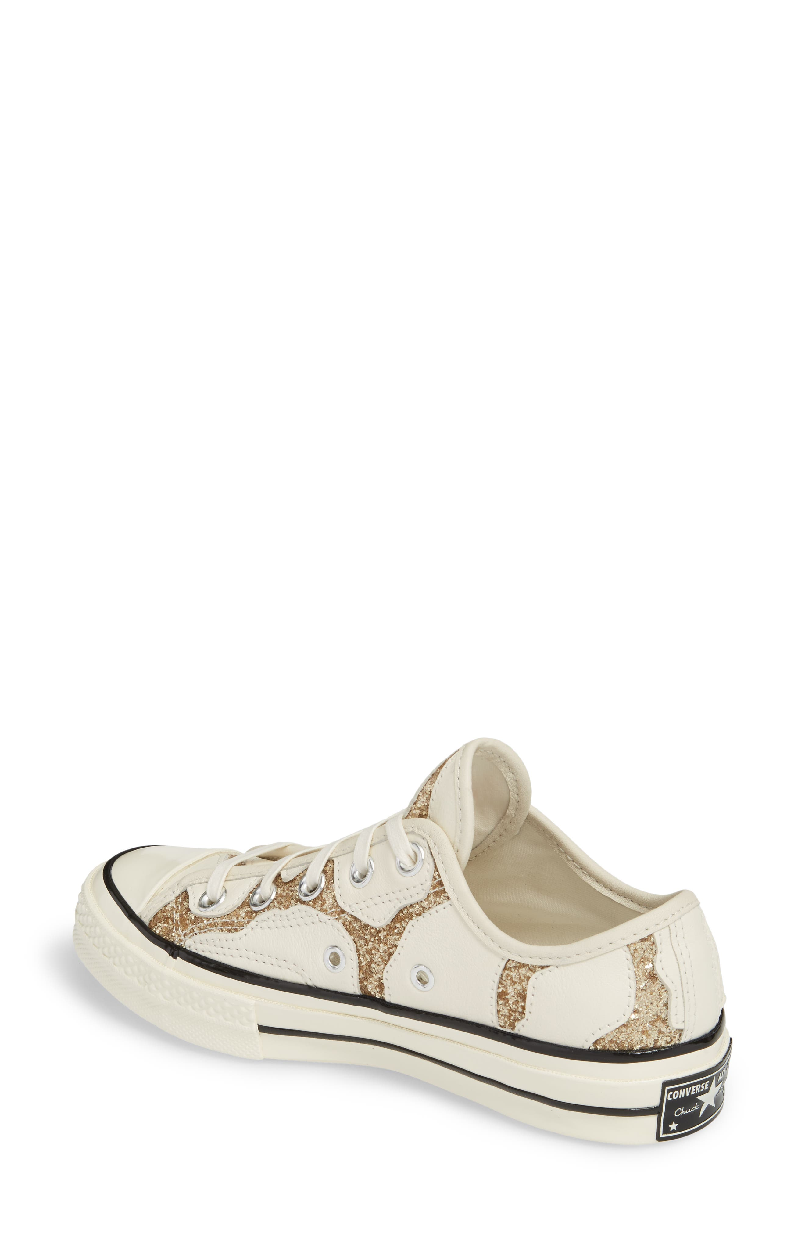 Alternate Image 2  - Converse Chuck Taylor® All Star® Animal Glitter Low Top Sneaker (Women)