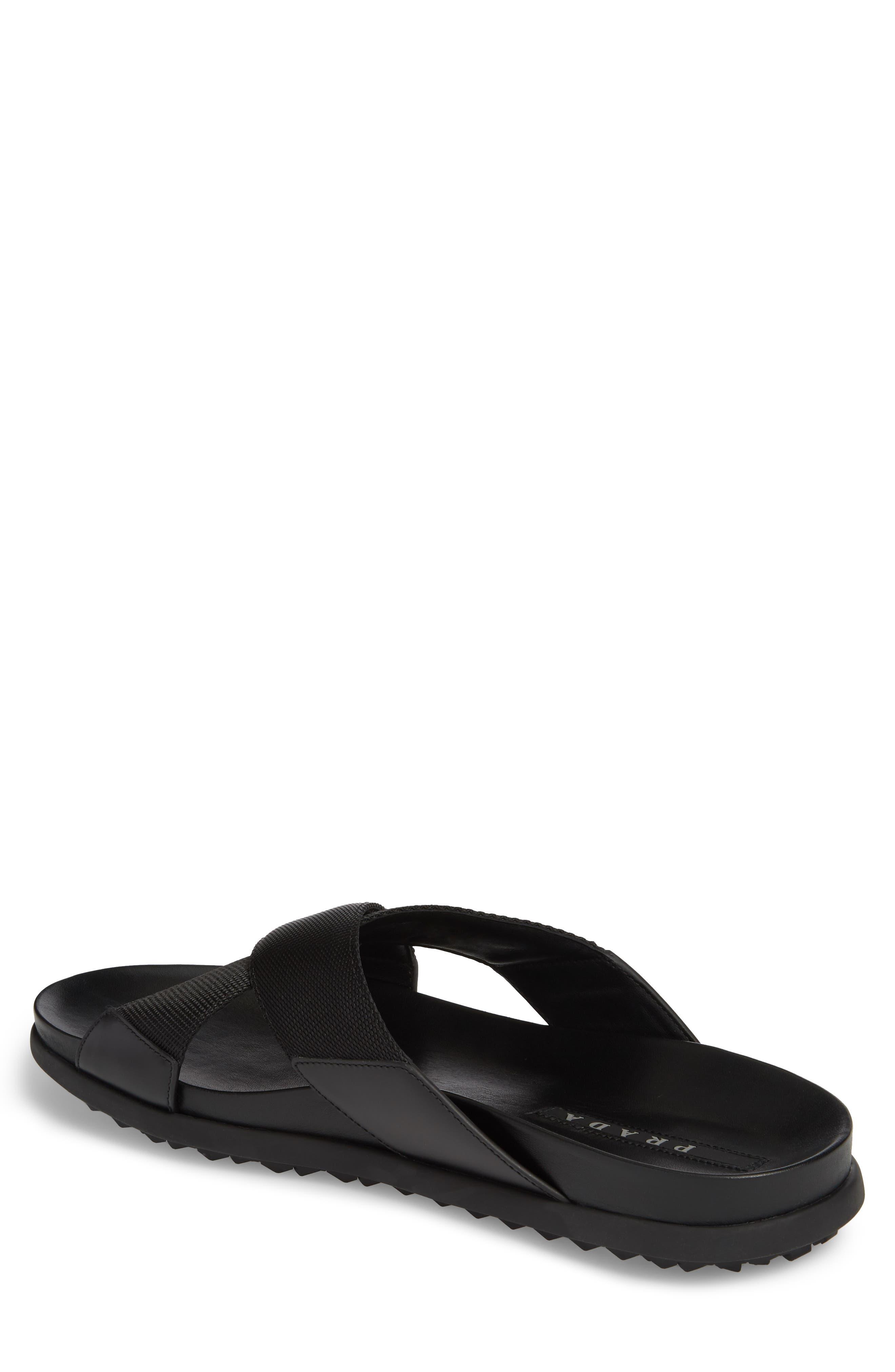 Alternate Image 2  - Prada Linea Rossa Slide Sandal (Men)