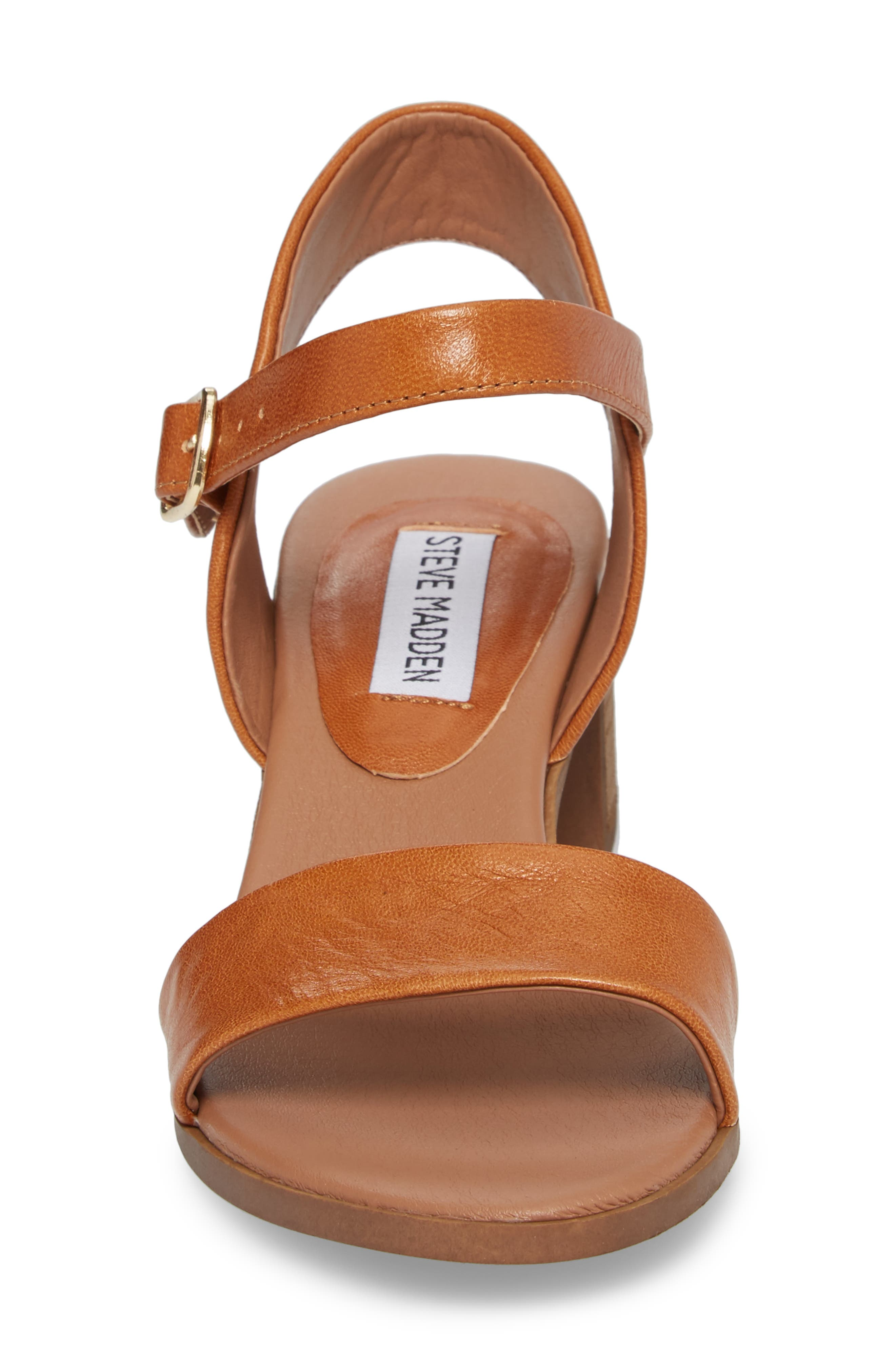 Alternate Image 4  - Steve Madden April Block Heel Sandal (Women)
