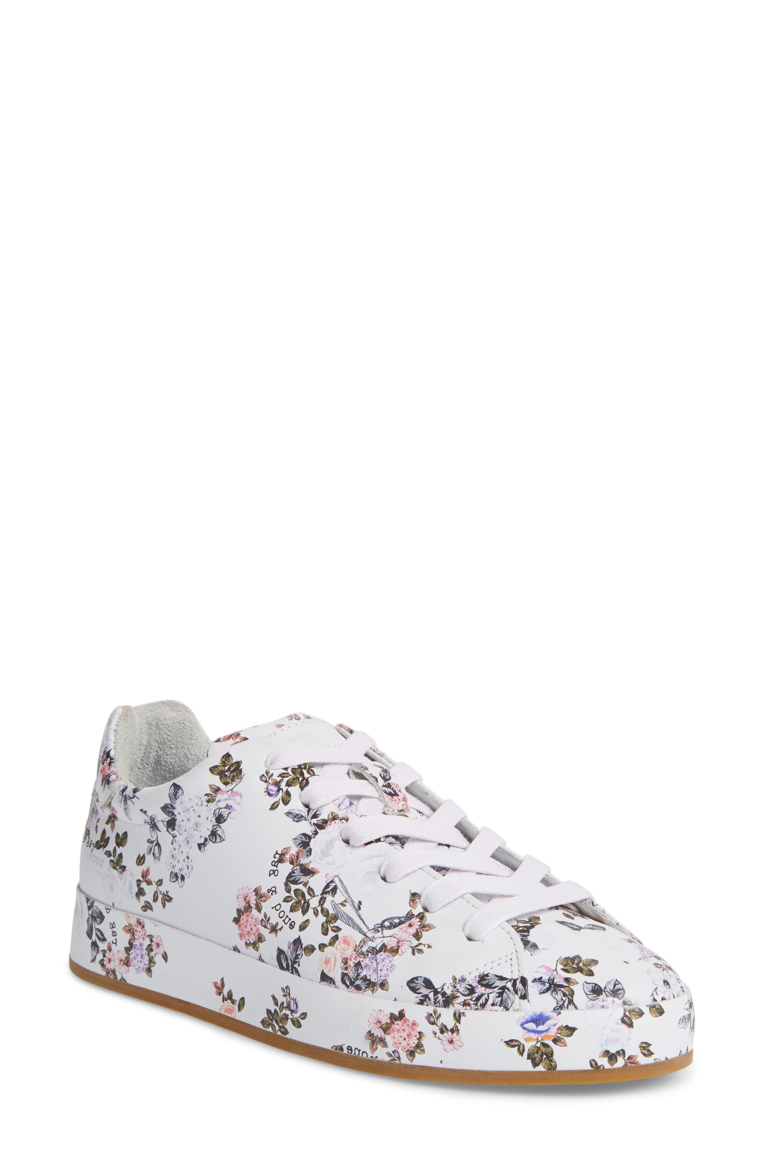 RB1 Low-Top Sneaker,                             Main thumbnail 1, color,                             Garden Florl