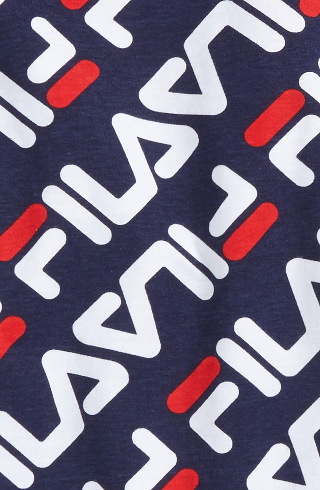 Alternate Image 2  - FILA Angled Logo Print T-Shirt (Big Boys)