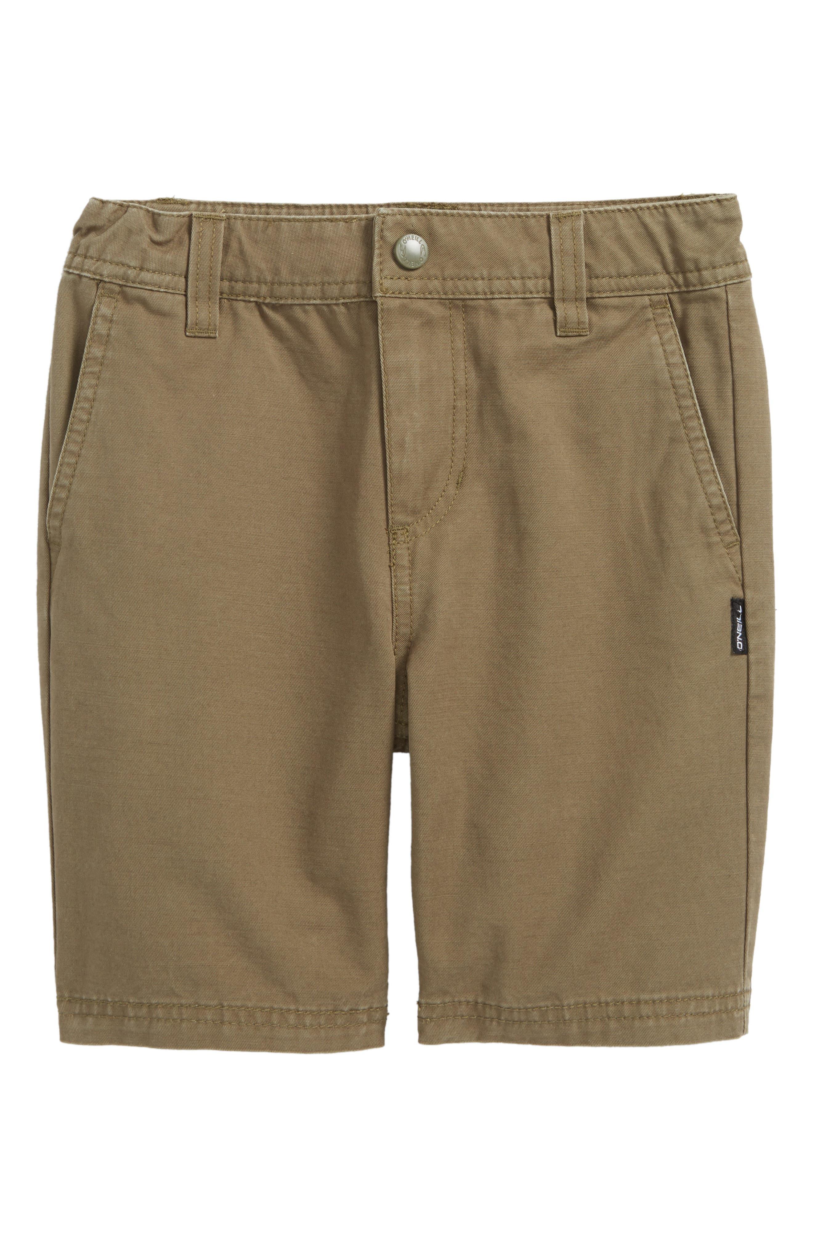 Alternate Image 1 Selected - O'Neill Jay Chino Shorts (Toddler Boys)