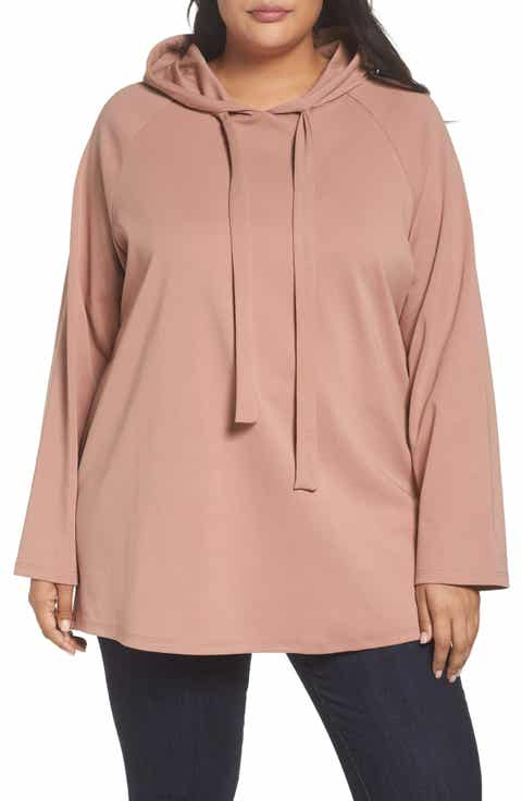 Glamorous Hoodie Tunic (Plus Size)
