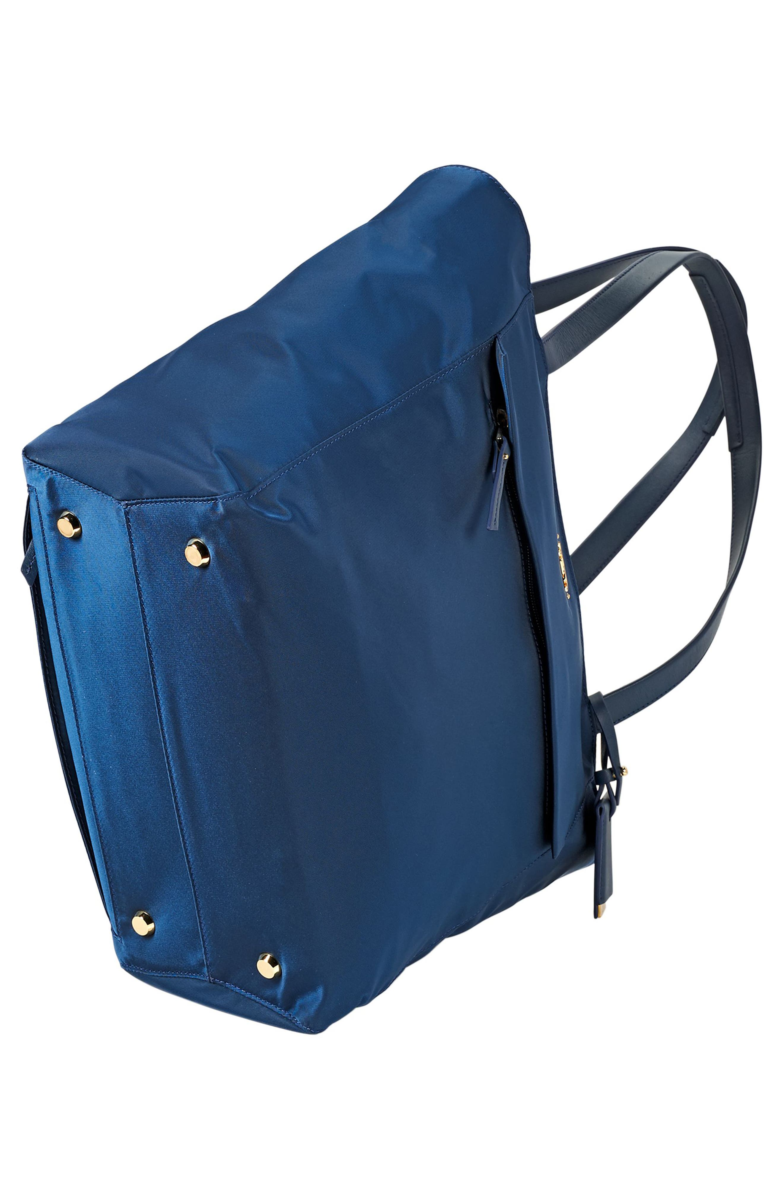 Small M-Tote Nylon Tote,                             Alternate thumbnail 5, color,                             Ocean Blue