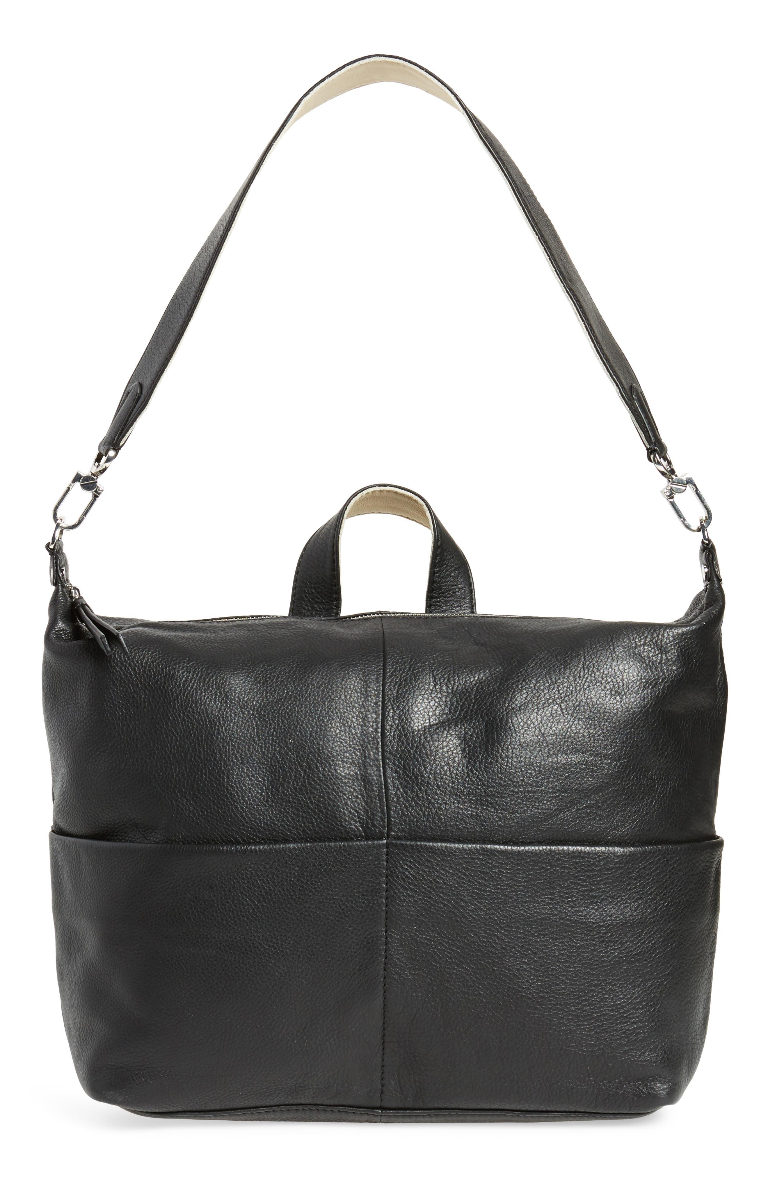 Alternate Image 5  - Topshop Premium Leather Convertible Backpack