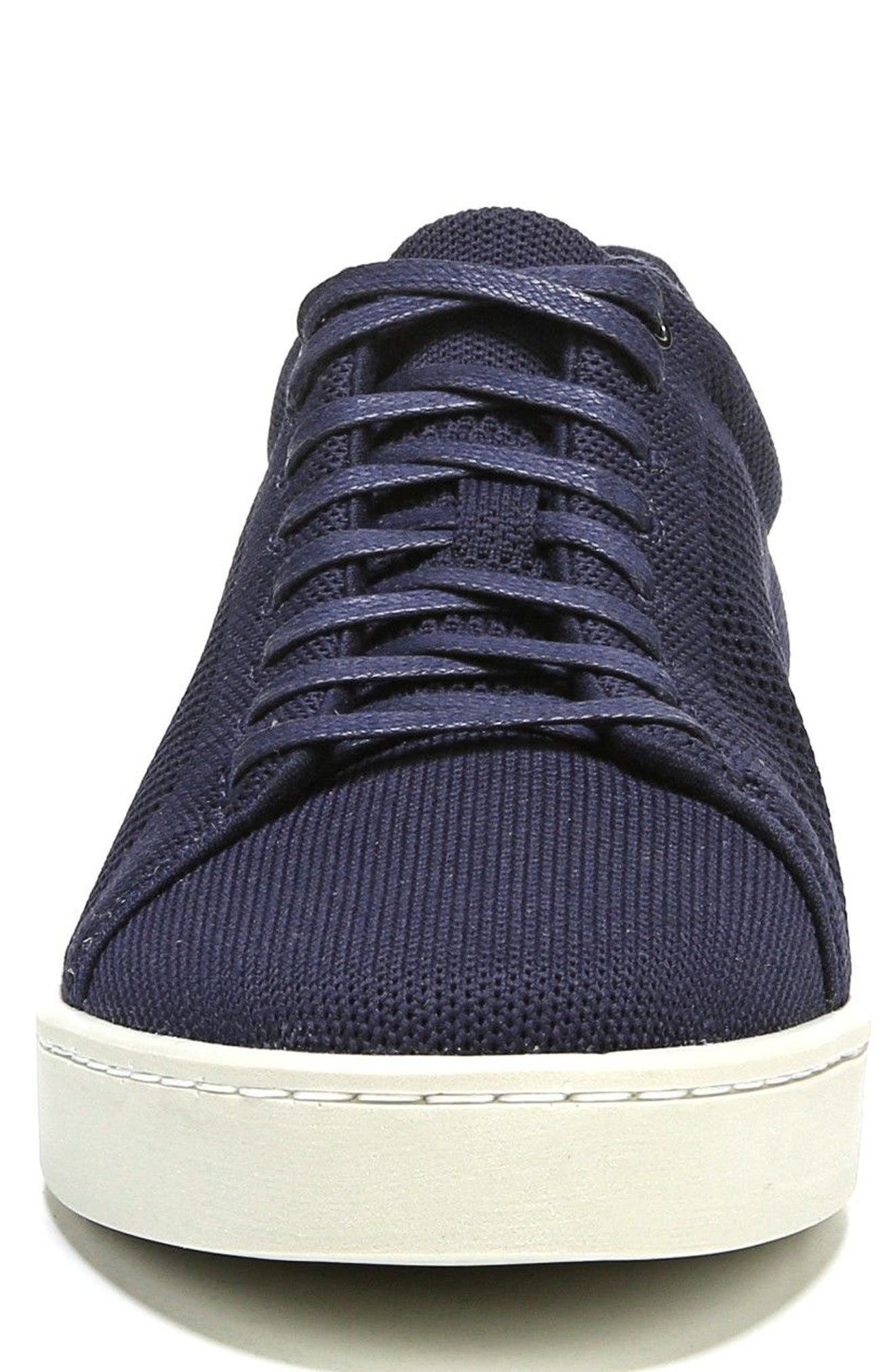 Silos Knit Low Top Sneaker,                             Alternate thumbnail 4, color,                             Coastal