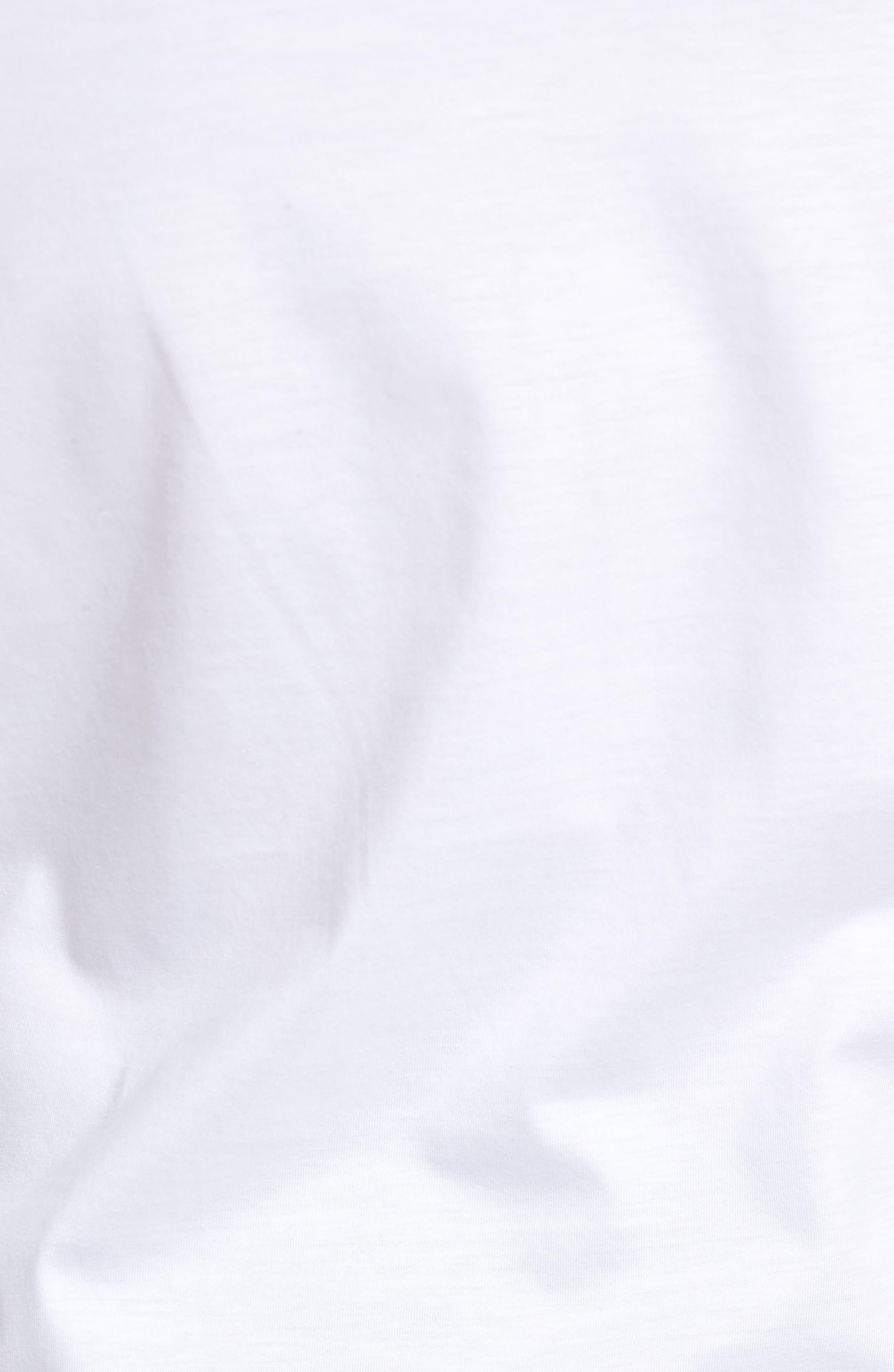 Puno Slim Fit Short Sleeve Sport Shirt,                             Alternate thumbnail 5, color,                             White