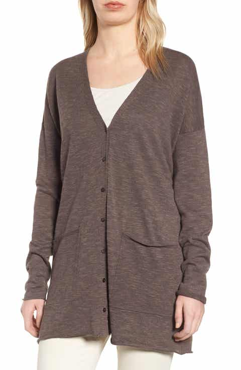 Eileen Fisher Boyfriend Cardigan