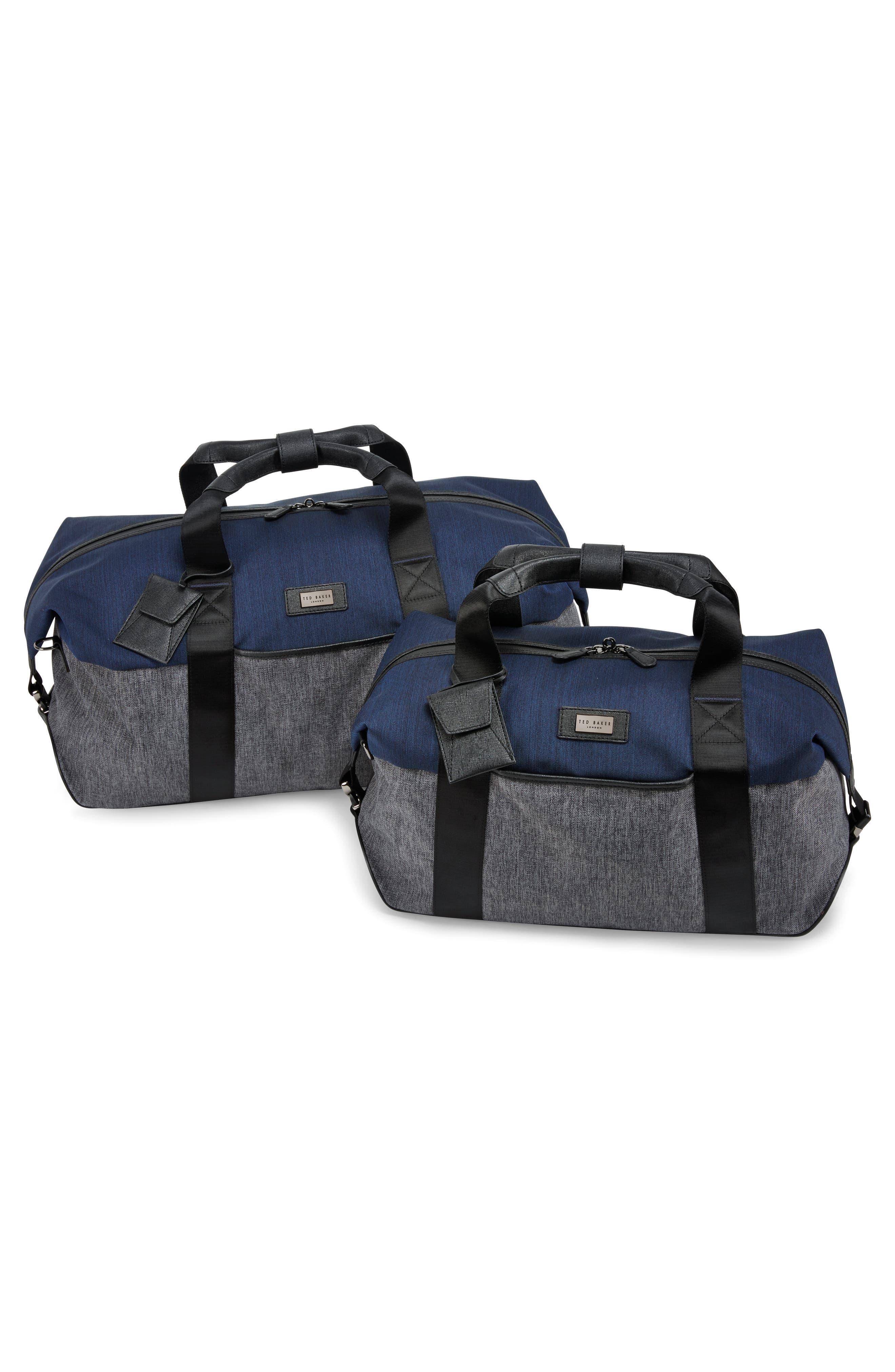 Medium Brunswick Water Resistant Duffel Bag,                             Alternate thumbnail 4, color,                             Grey