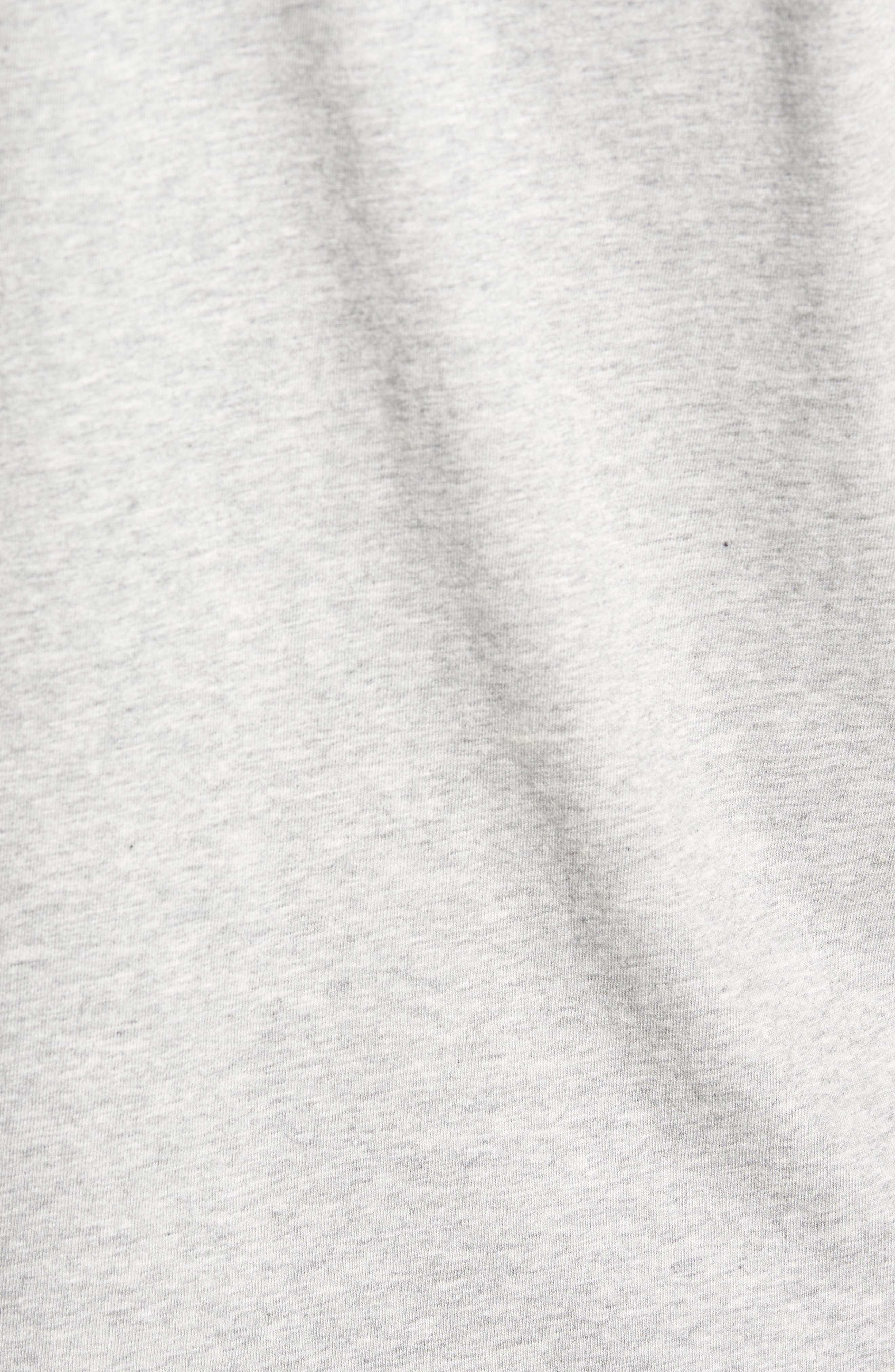 Whaleline Graphic Pocket T-Shirt,                             Alternate thumbnail 5, color,                             Grey Heather