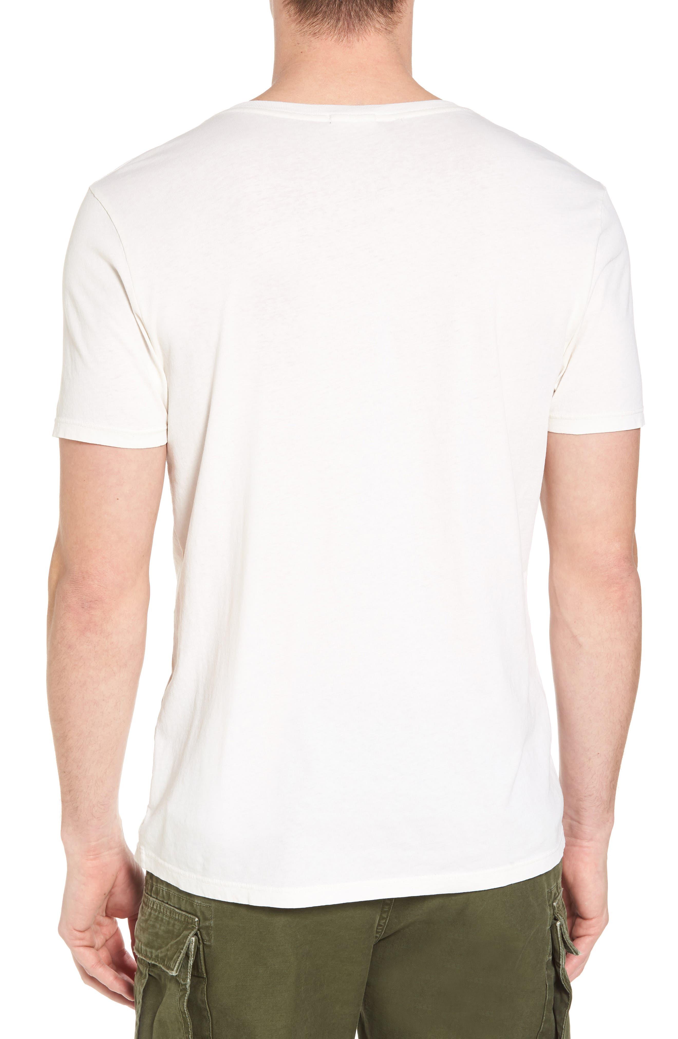 Greene Street Vintage Graphic T-Shirt,                             Alternate thumbnail 2, color,                             Off White