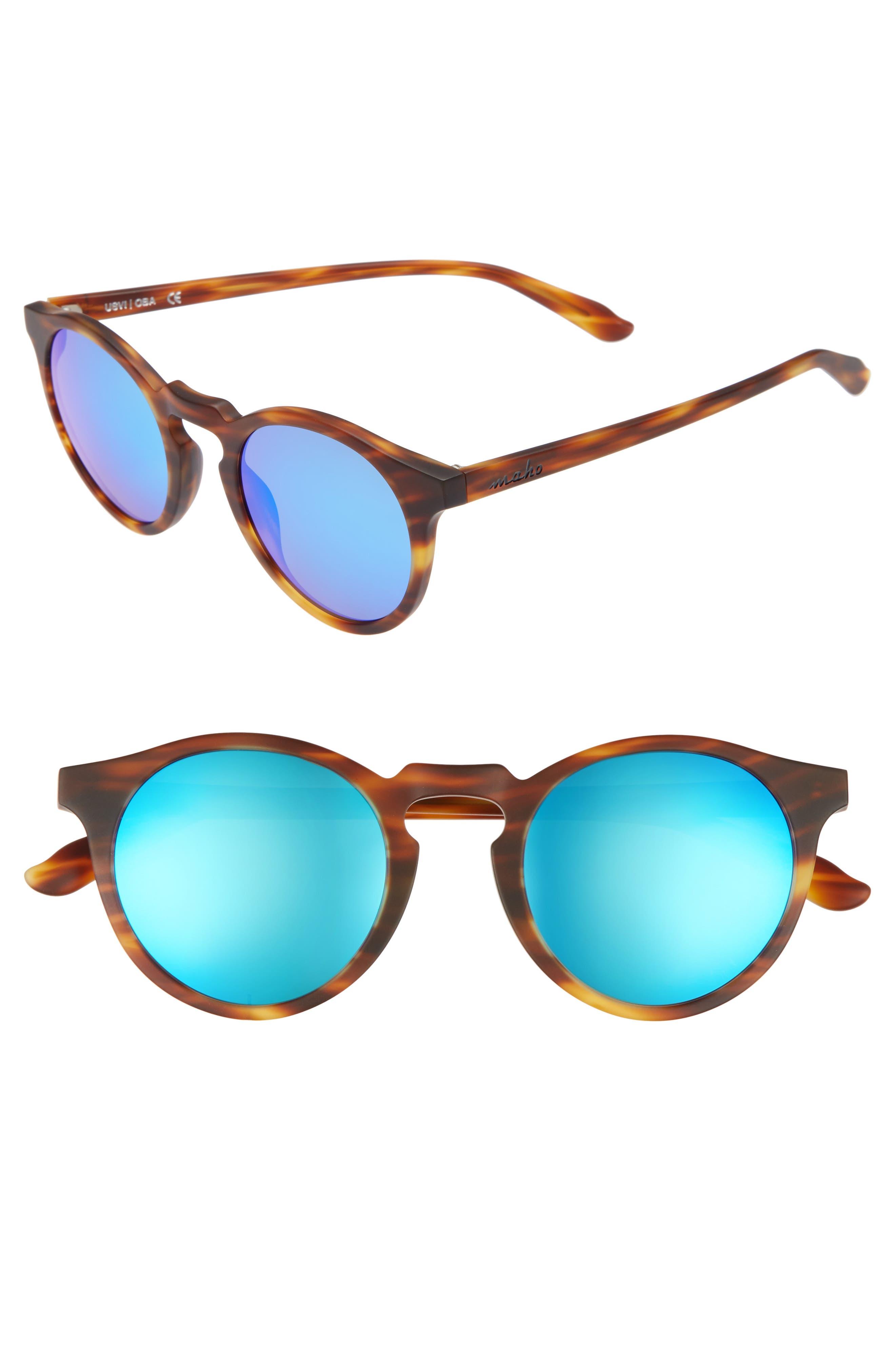 Main Image - Maho Stockholm 48mm Polarized Round Sunglasses
