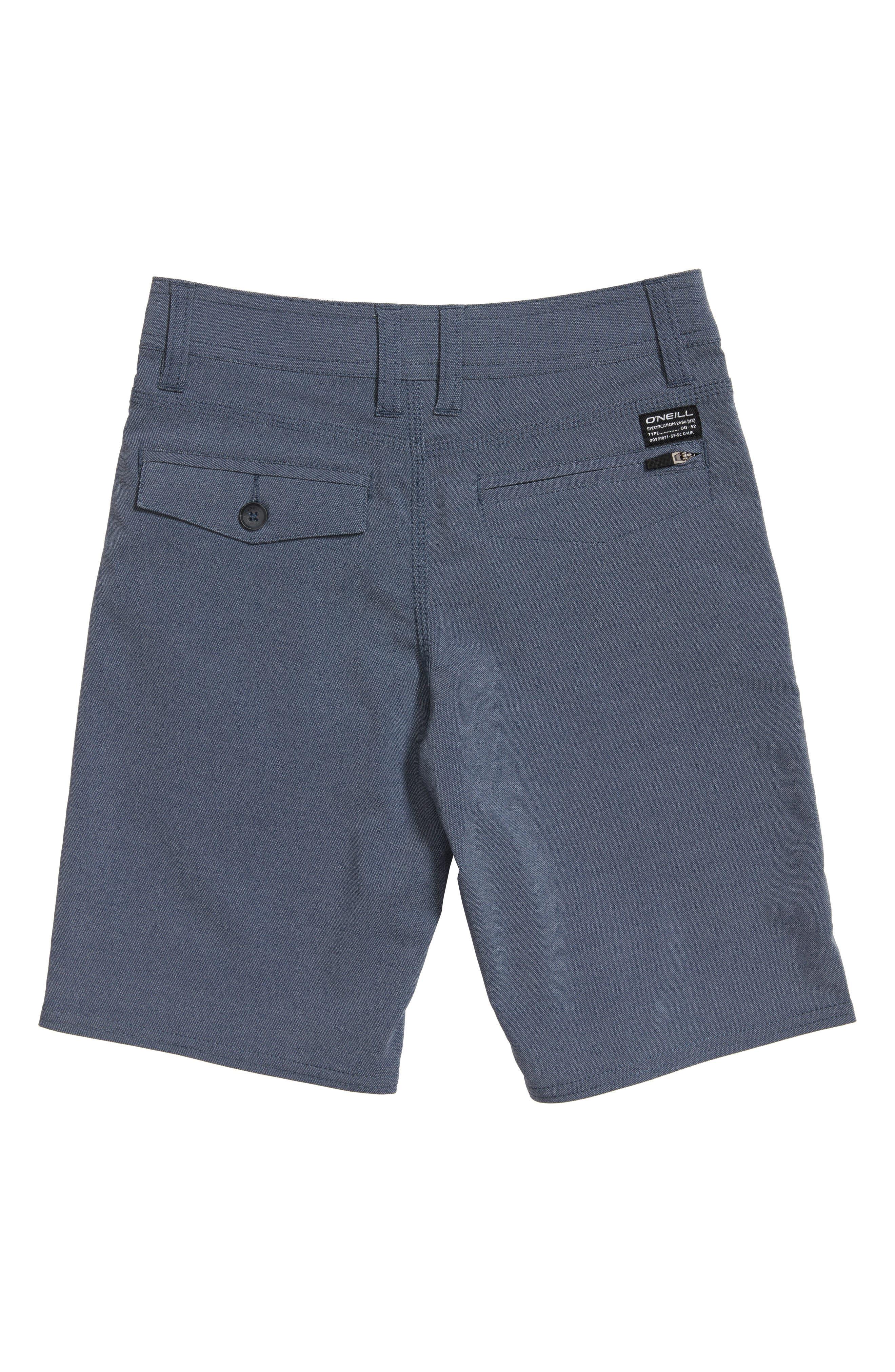 Stockton Hybrid Shorts,                             Alternate thumbnail 2, color,                             Navy