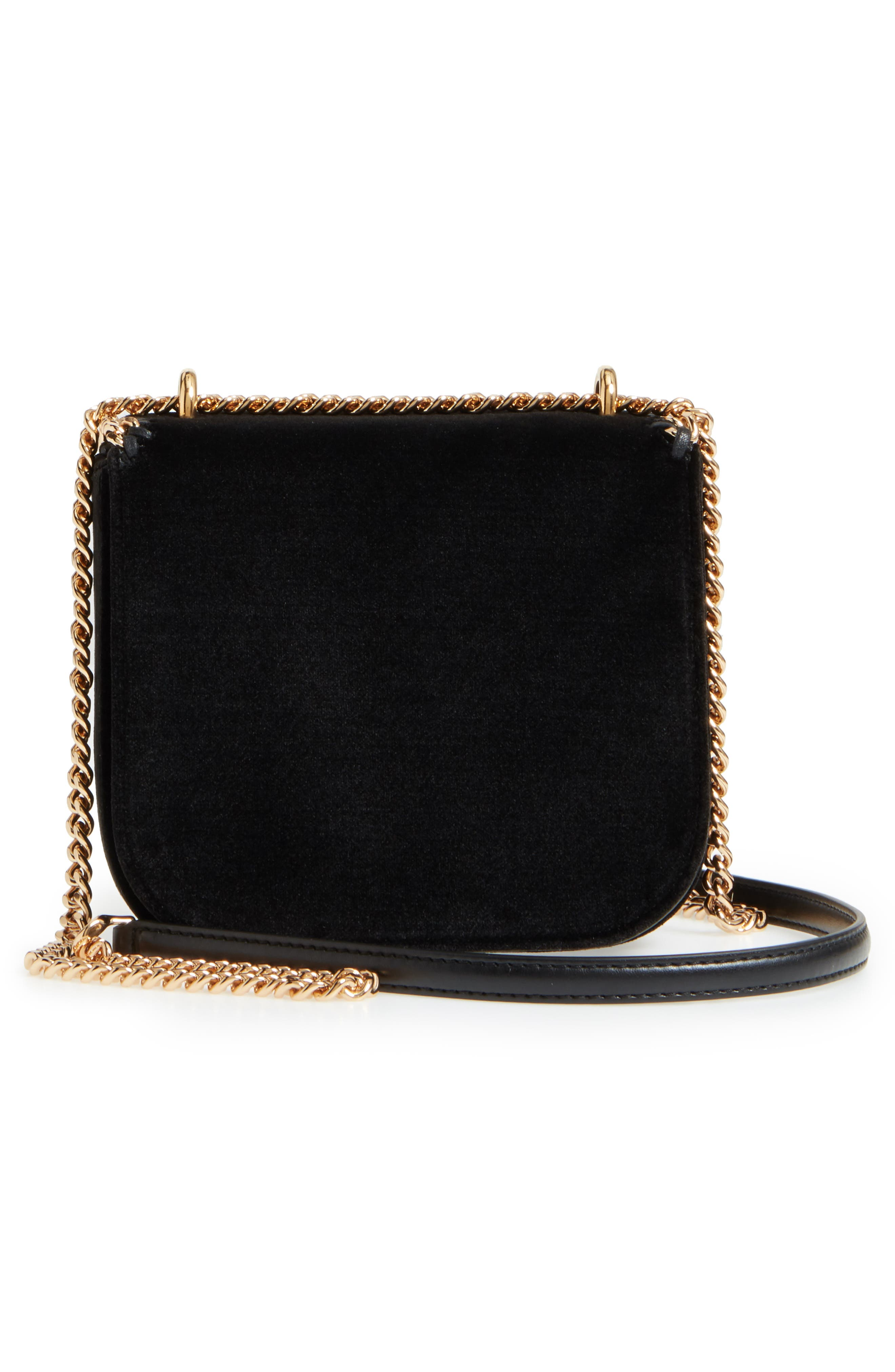 Alternate Image 3  - Stella McCartney Mini Falabella Box Velvet Shoulder Bag