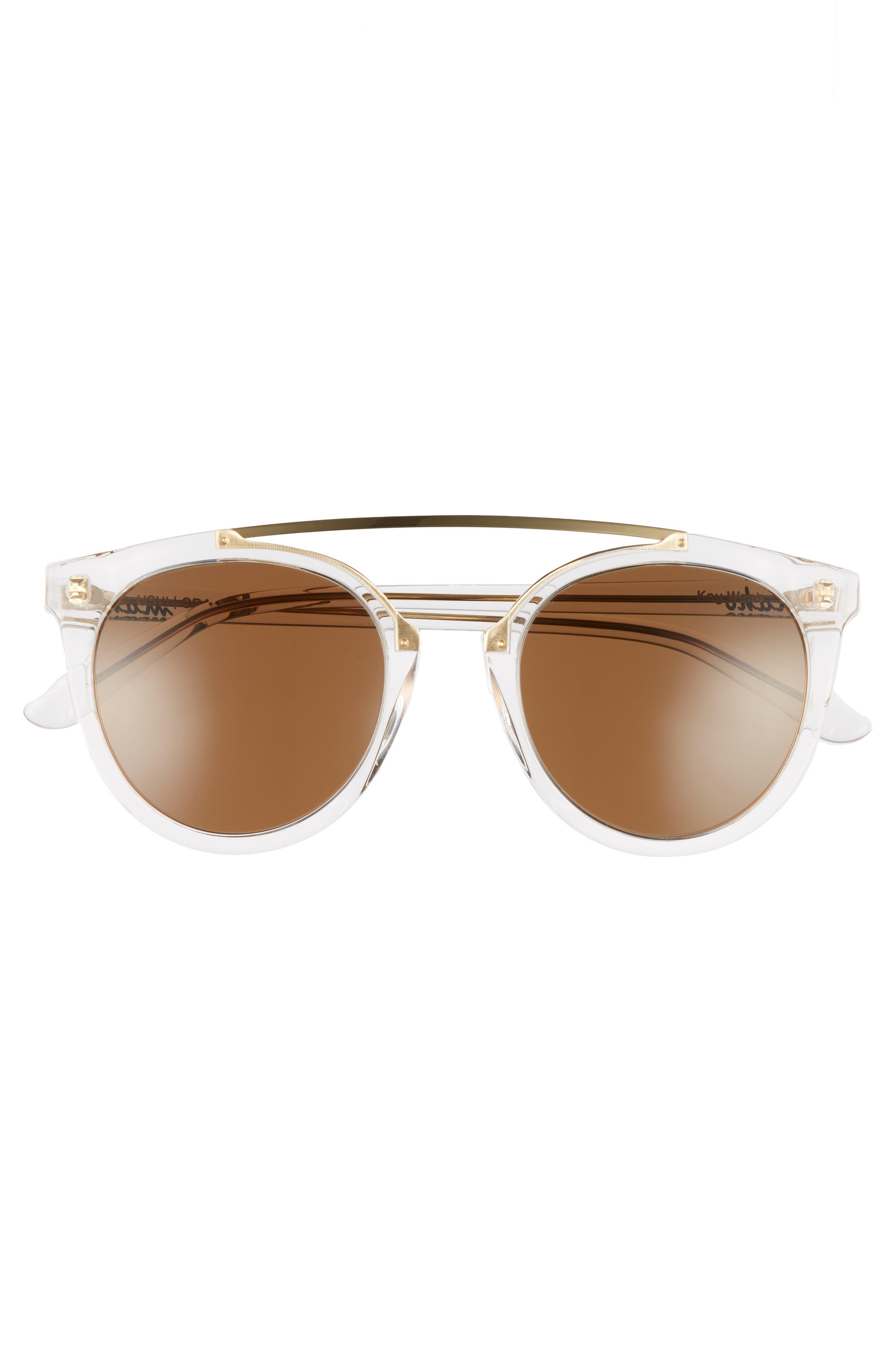 Alternate Image 3  - Maho Key West 50mm Polarized Aviator Sunglasses