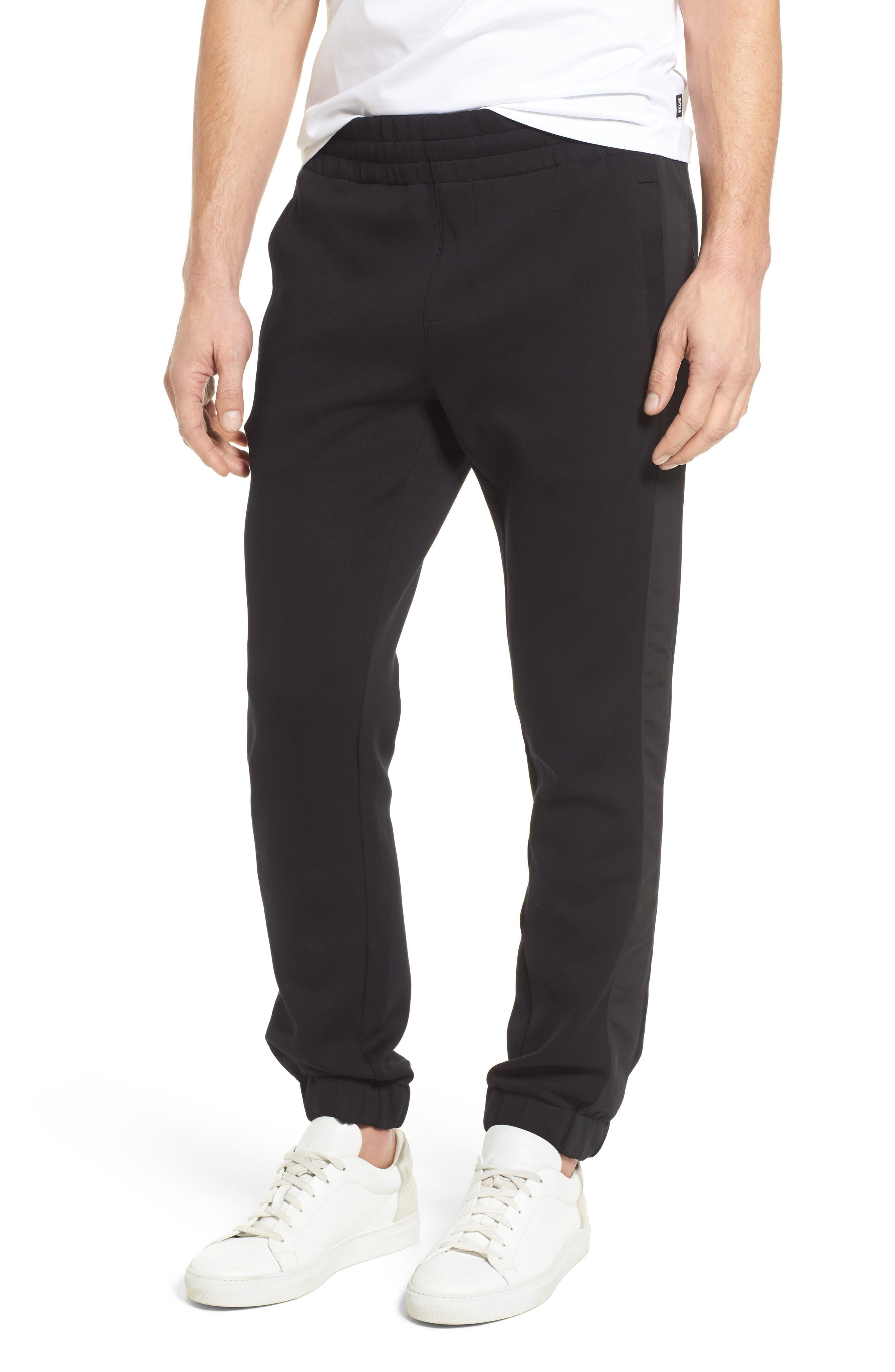 Lamont Mercedes Jogger Pants,                         Main,                         color, Black