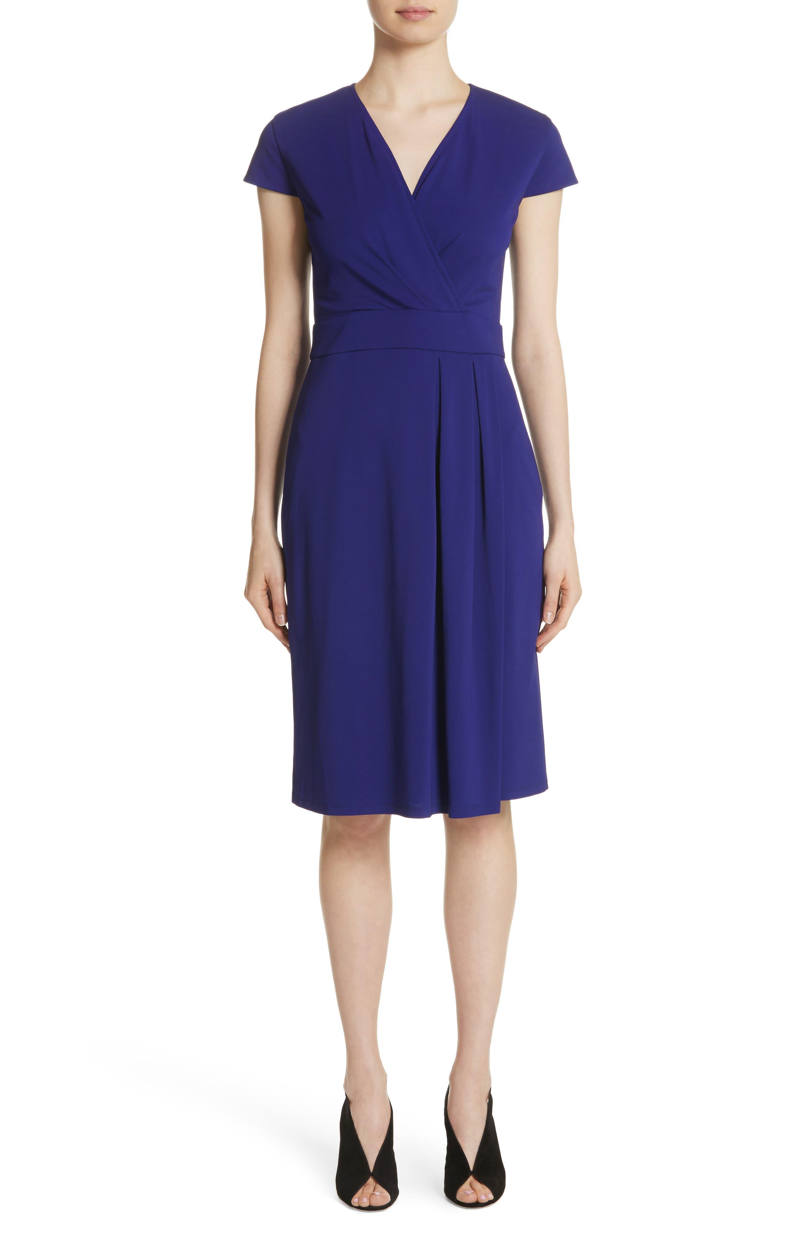 Feluca Surplice Dress,                         Main,                         color, Violet