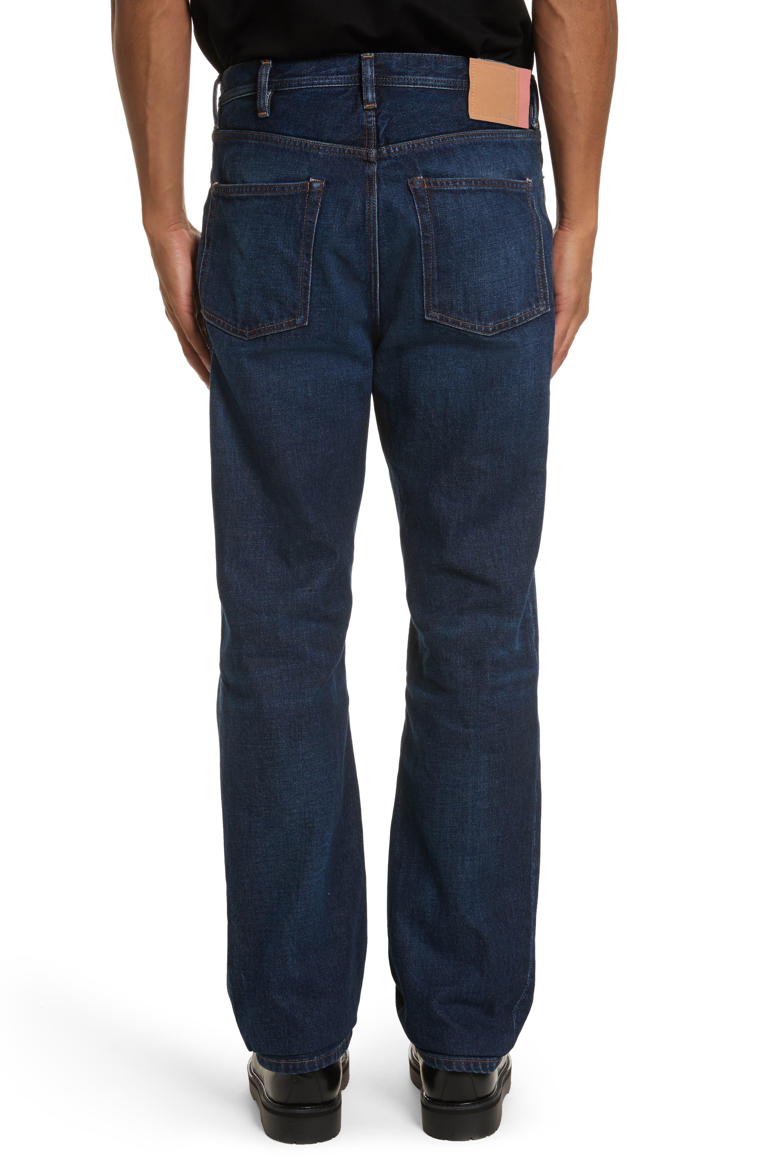 Land Classic Straight Leg Jeans,                             Alternate thumbnail 2, color,                             123 Dk Blue