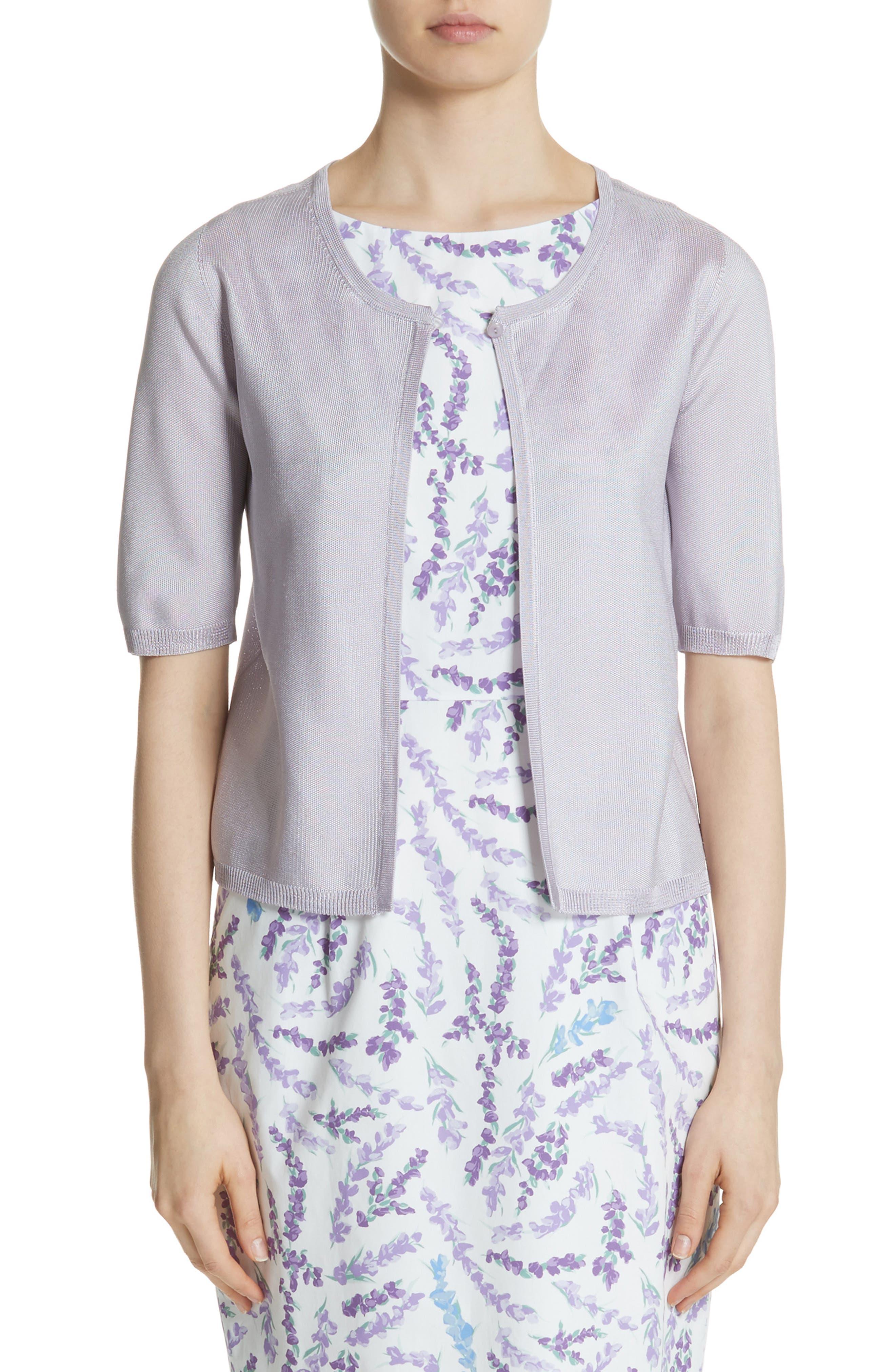 Fondi Knit Cardigan,                         Main,                         color, Lavender