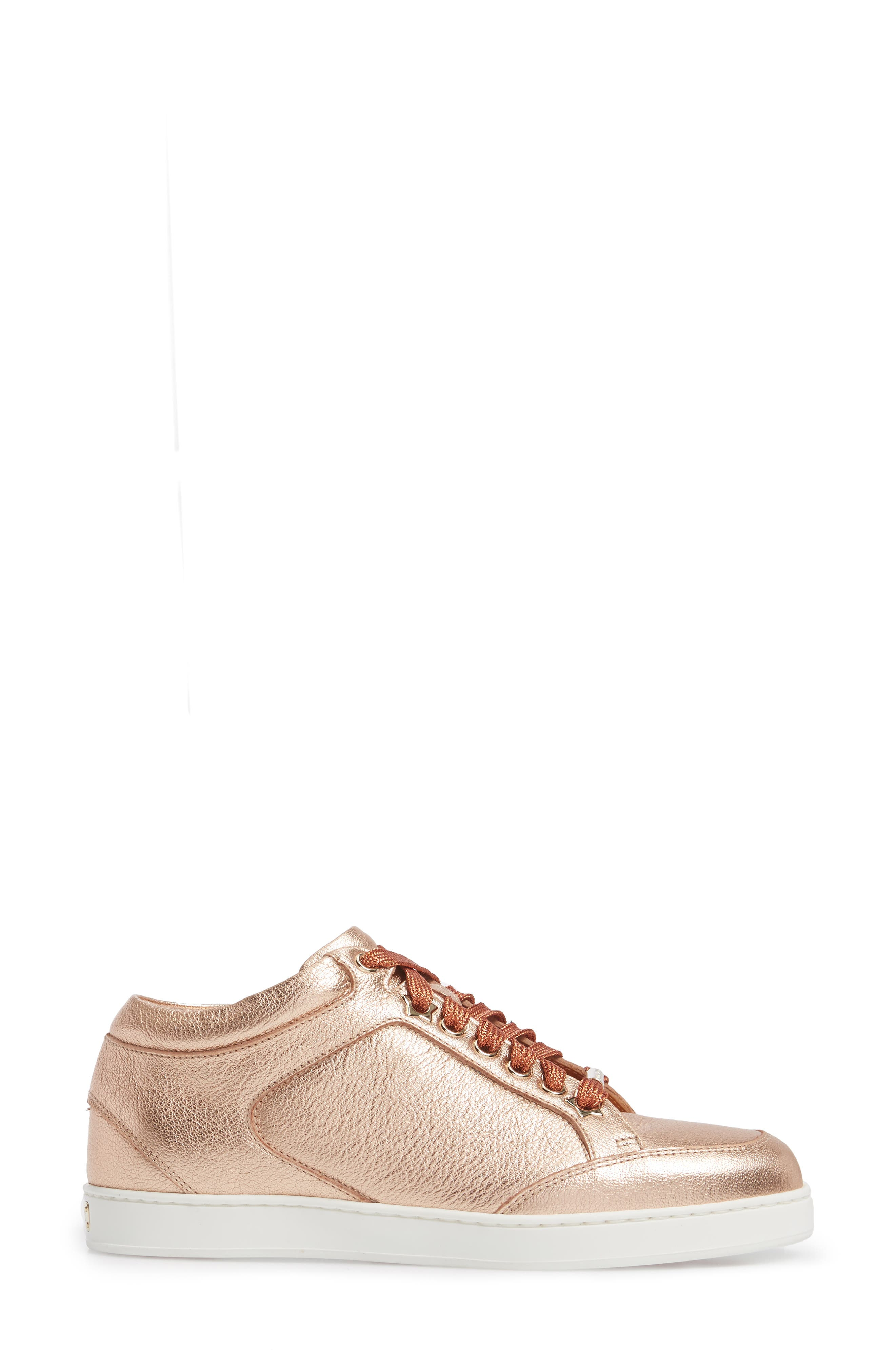 Alternate Image 3  - Jimmy Choo Miami Metallic Sneaker (Women)