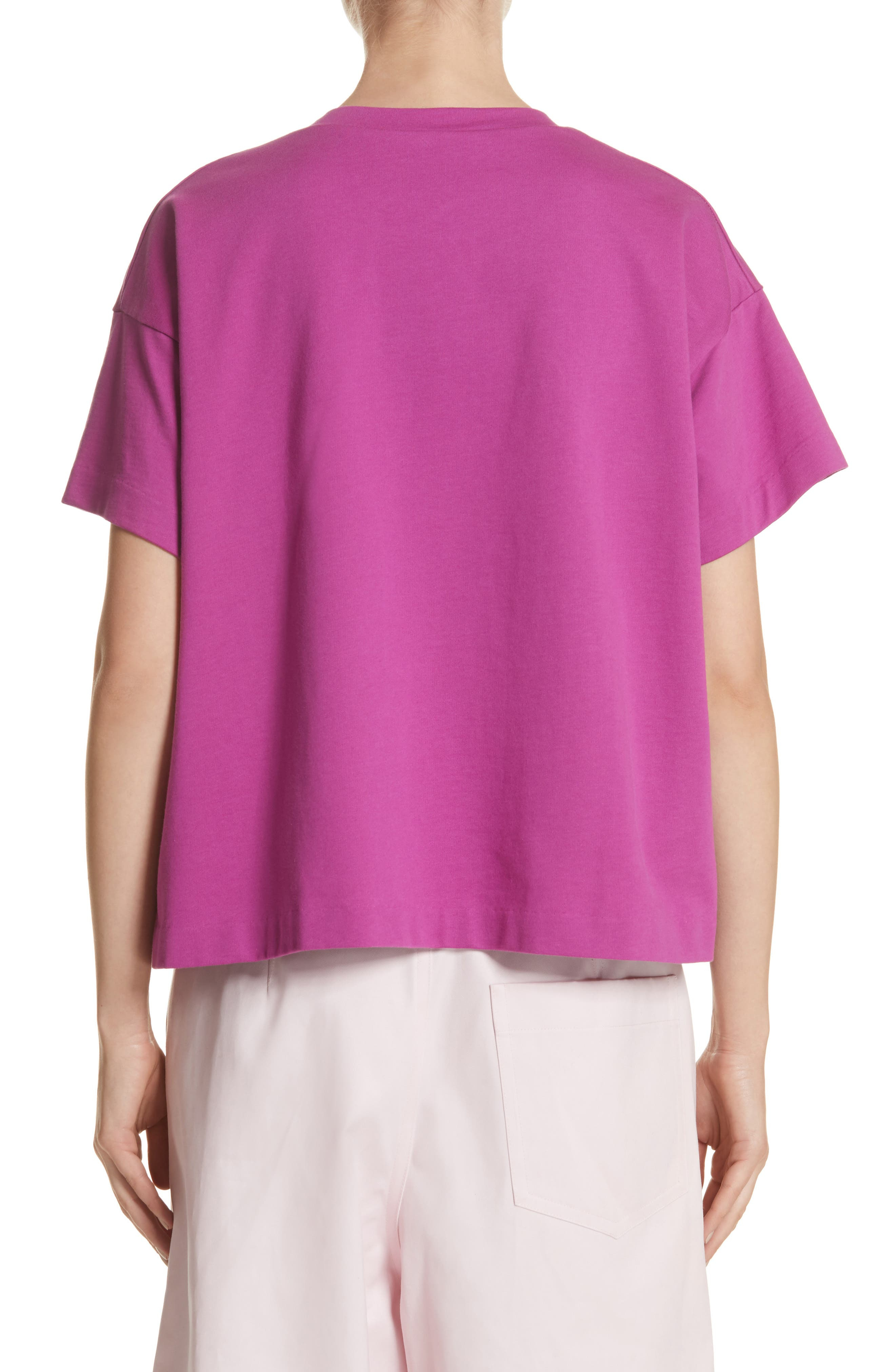 Colorblock Tee,                             Alternate thumbnail 2, color,                             1Red/Violet