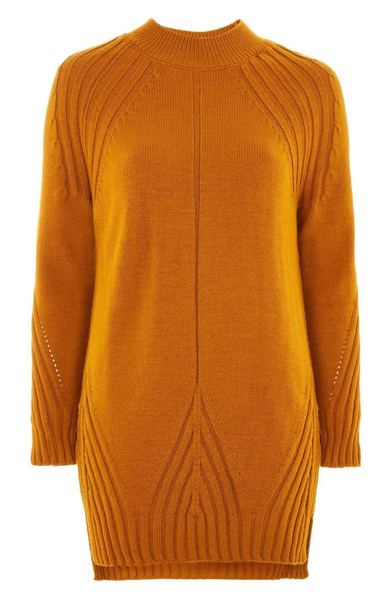 Alternate Image 3  - Topshop Knit Detail Sweater Dress