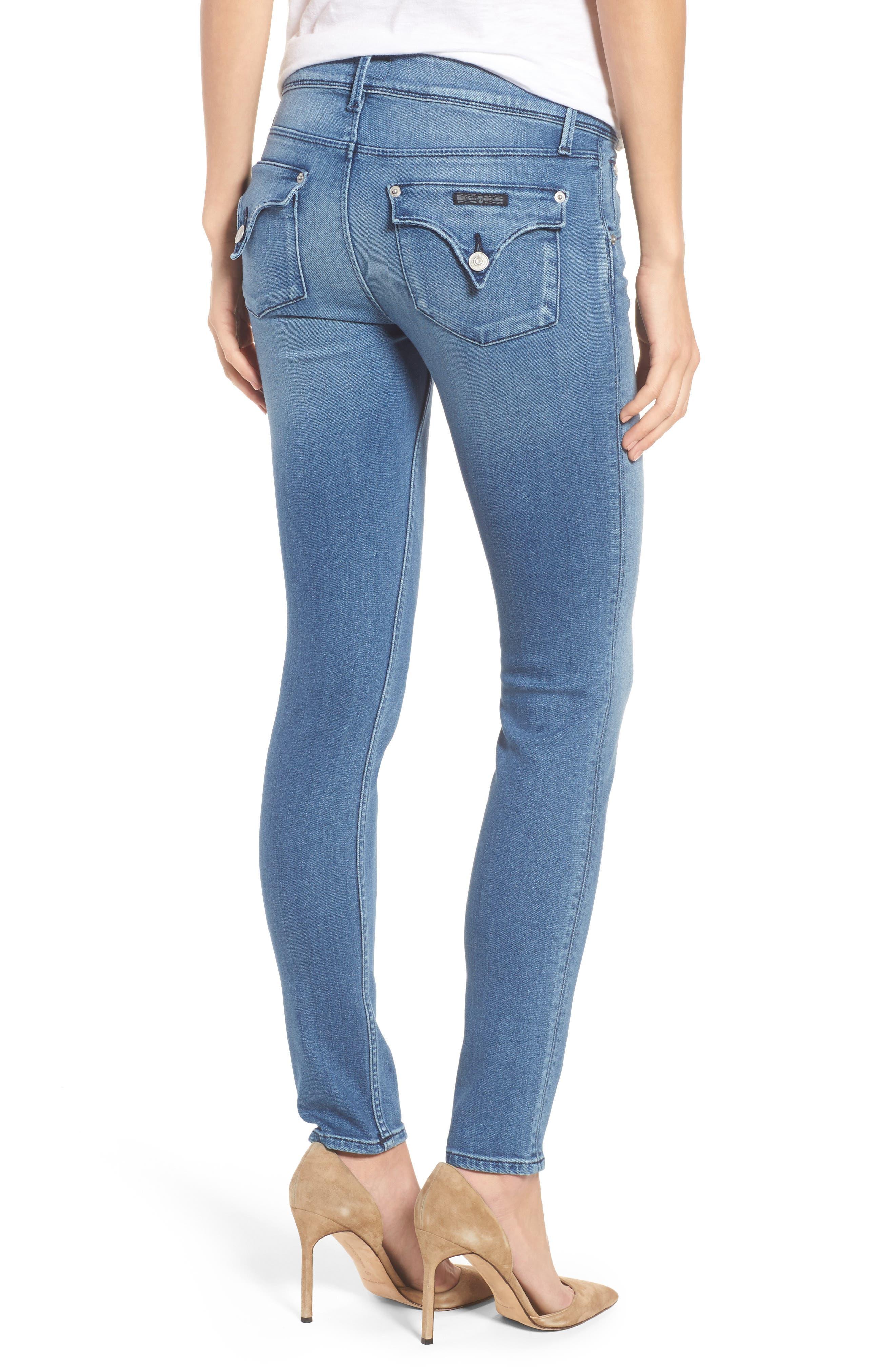 Alternate Image 2  - Hudson Jeans Collin Skinny Jeans (Sentimental)