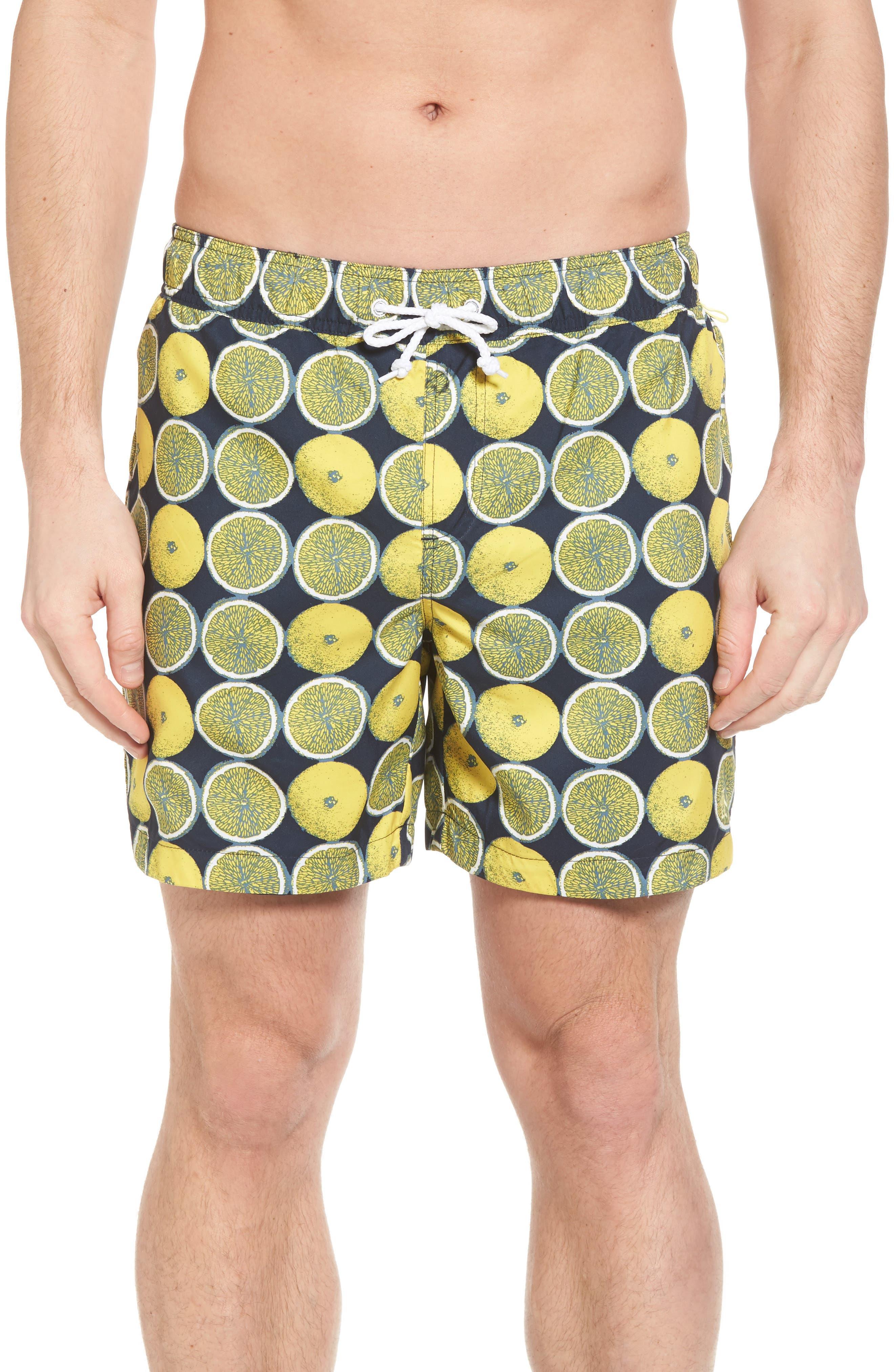 Main Image - Original Penguin Reversible Volley Board Shorts