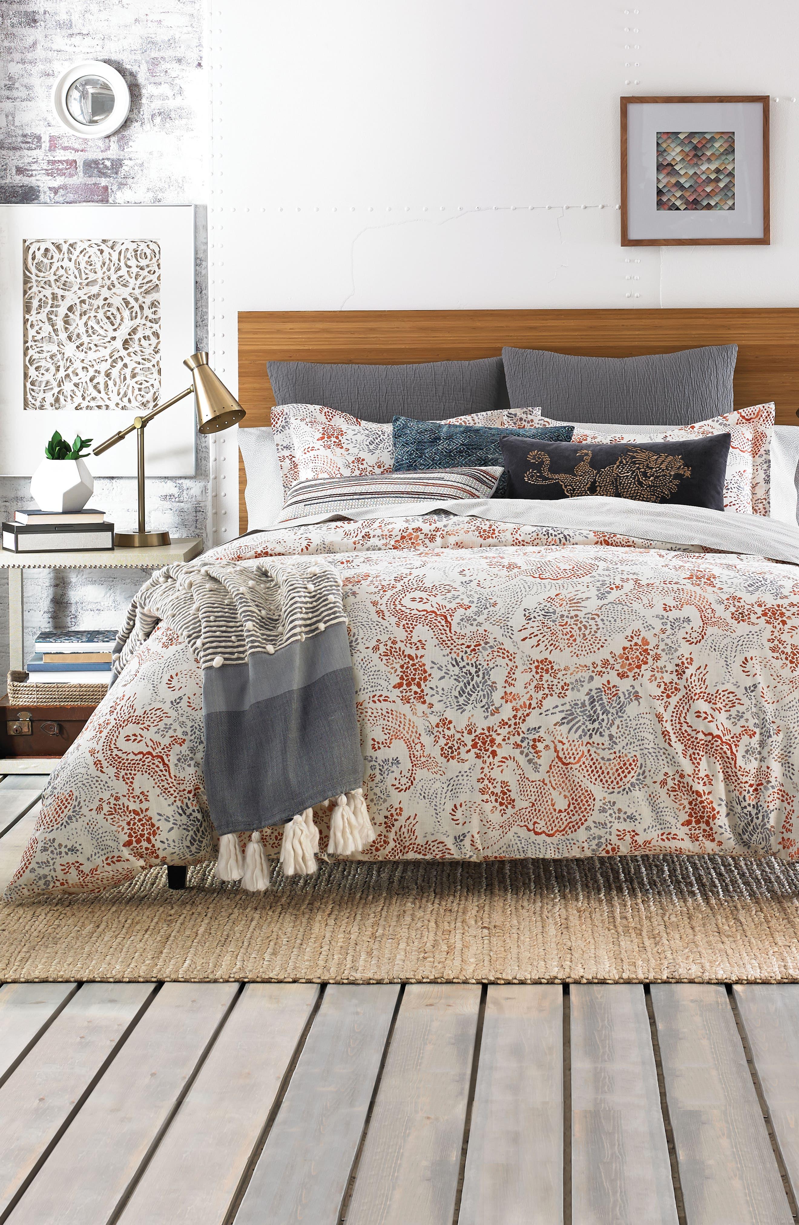 Jakarta Comforter,                         Main,                         color, Sienna Multi