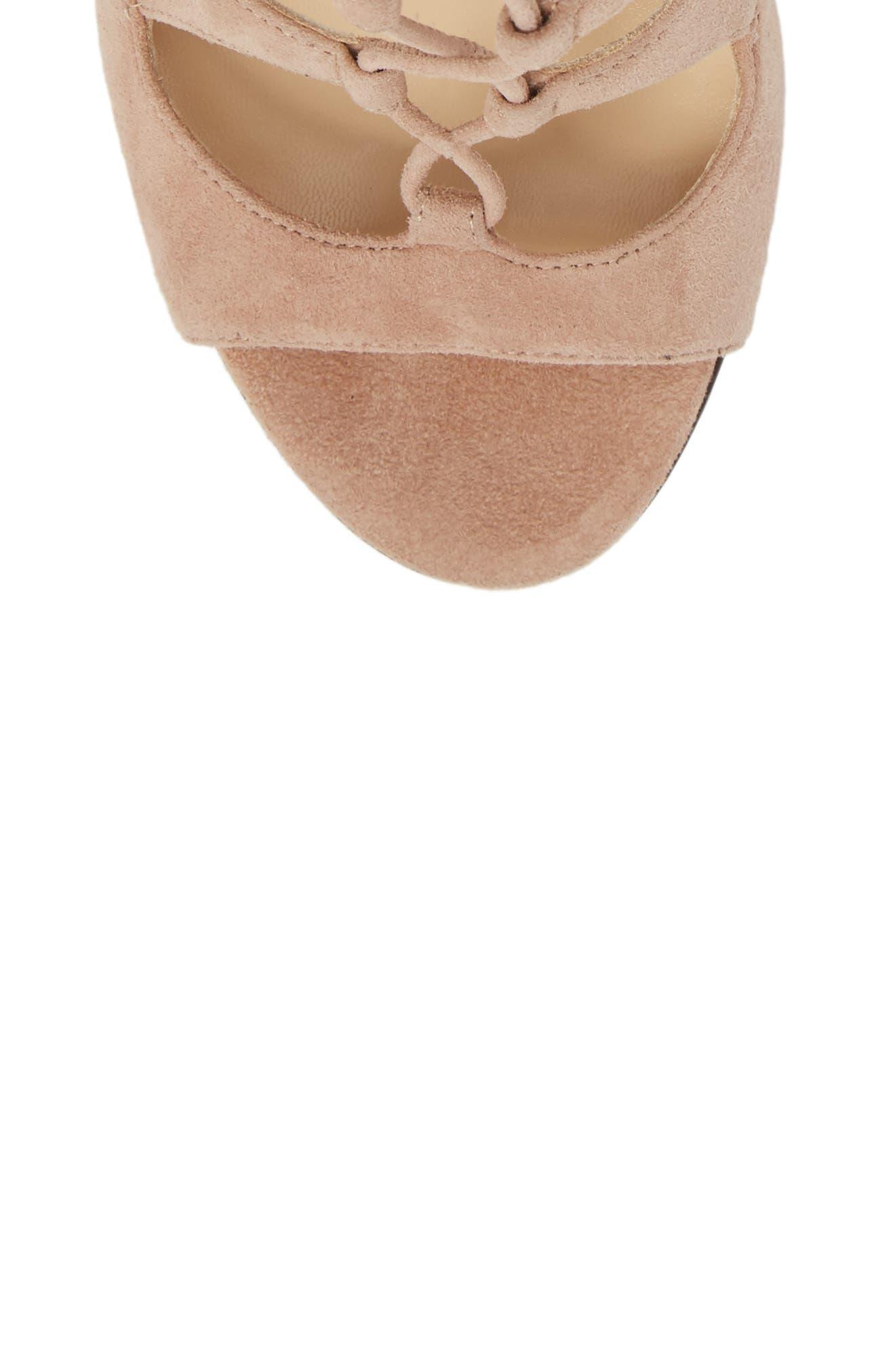 Alternate Image 5  - Jimmy Choo Blake Lace-Up Sandal (Women)