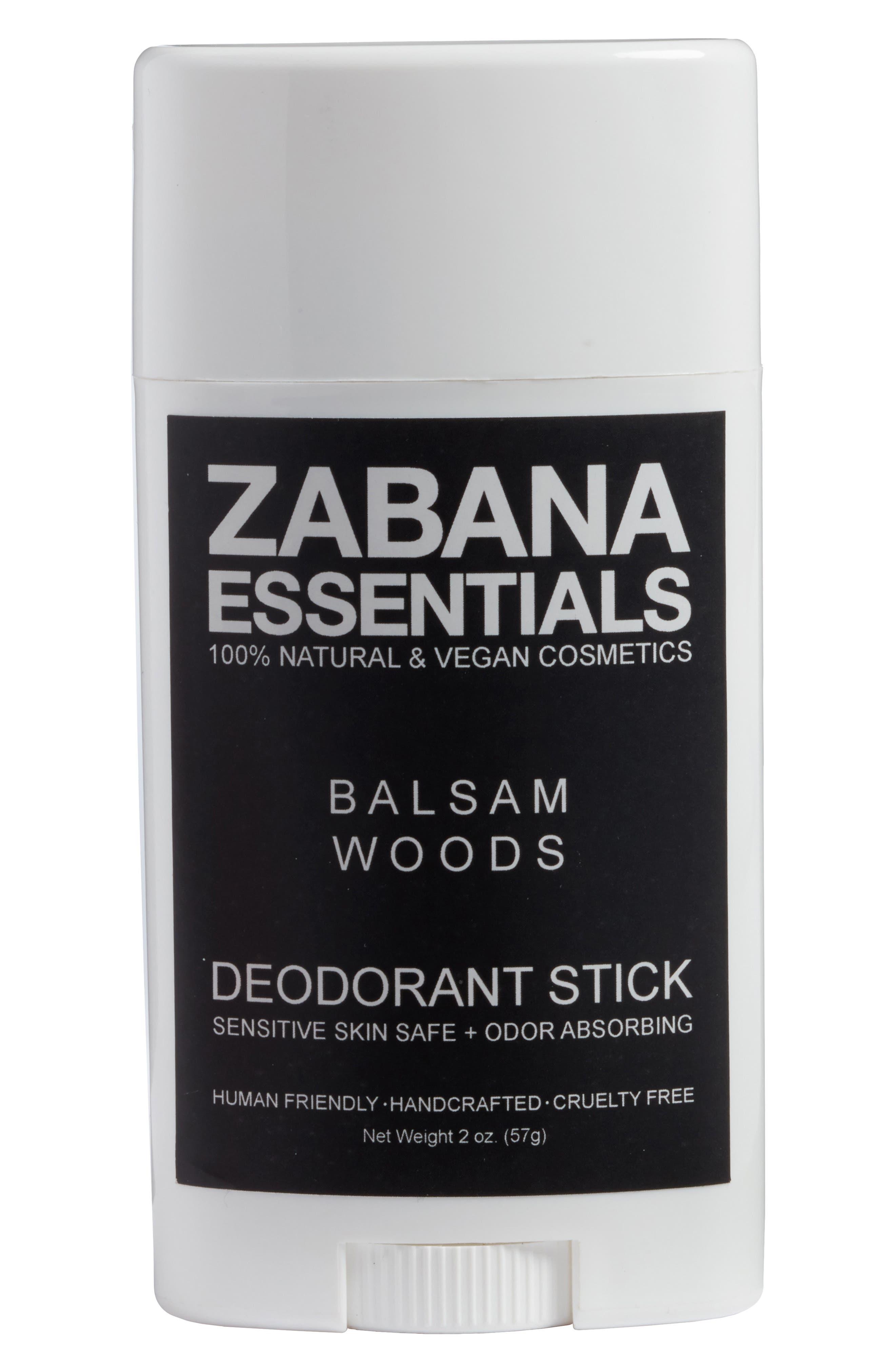 Alternate Image 1 Selected - Zabana Essentials Deodorant Stick