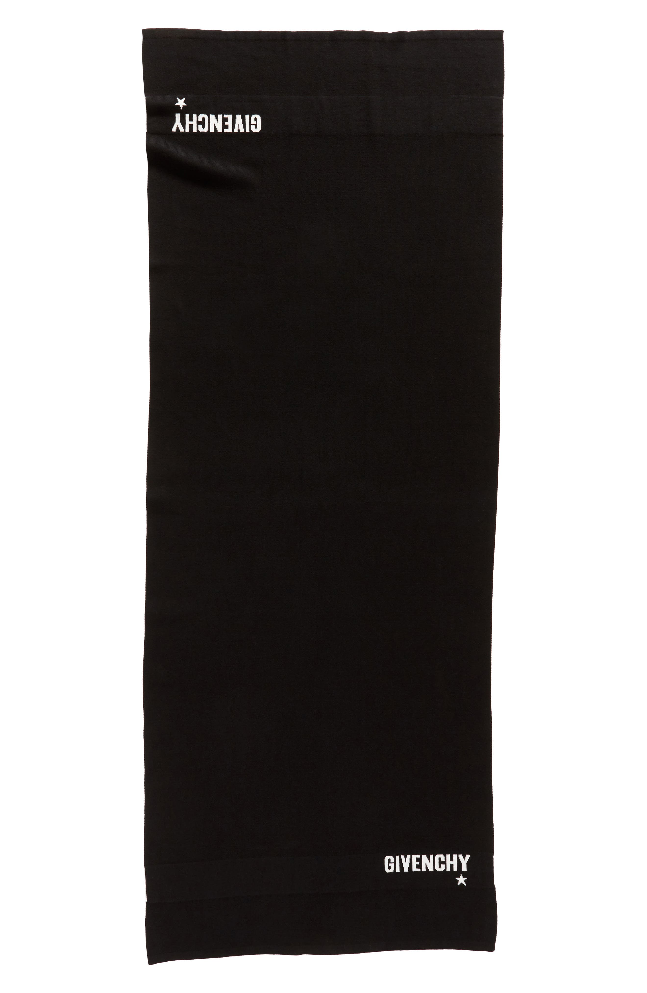 Givenchy Star Cotton & Cashmere Scarf