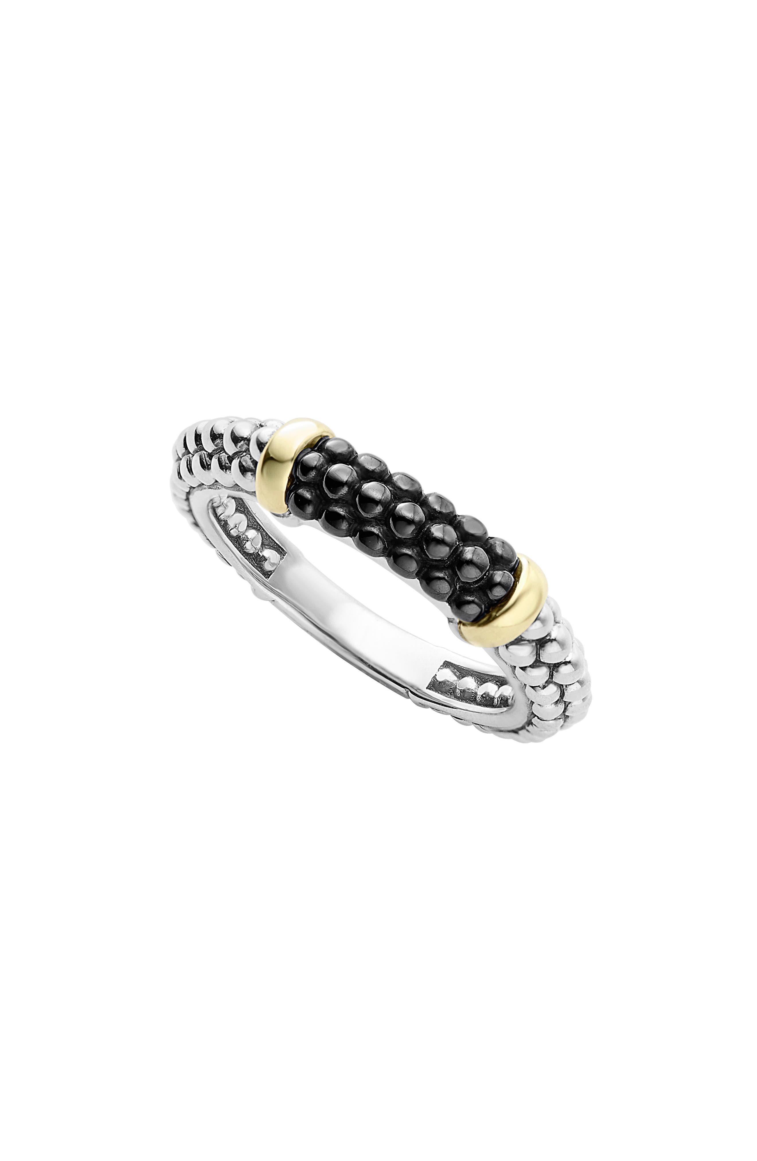 LAGOS 'Caviar' Stacking Ring