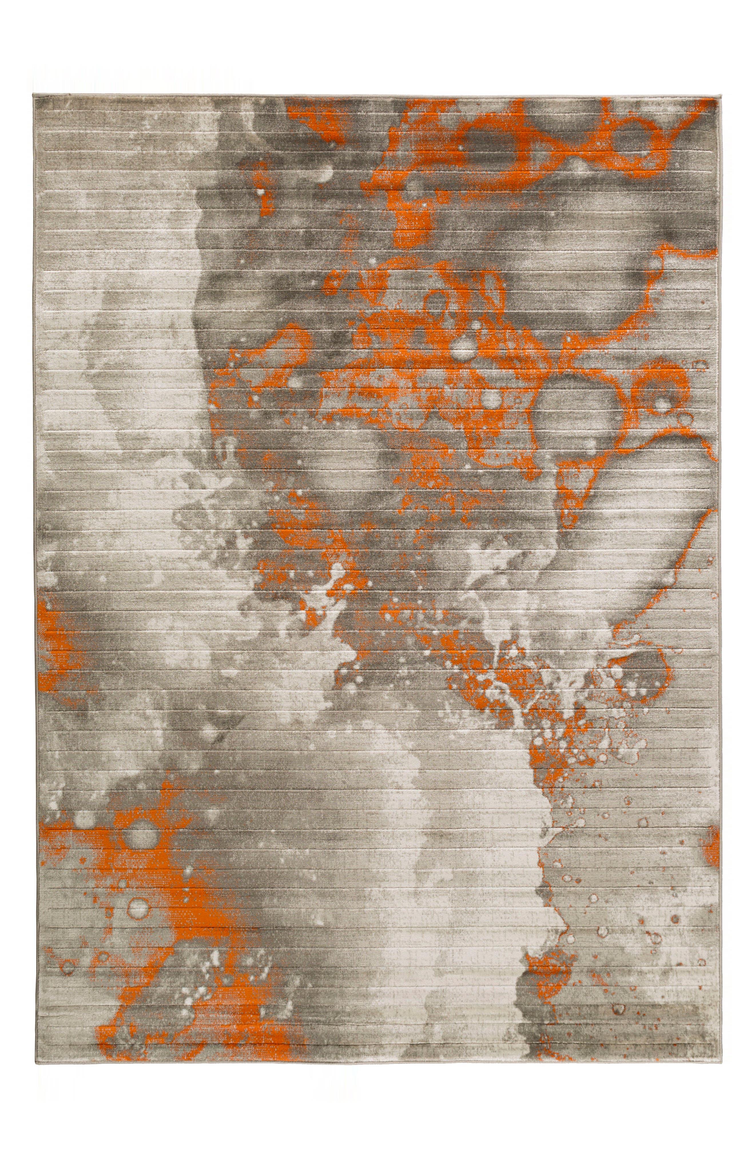 Jax Area Rug,                             Main thumbnail 1, color,                             Orange