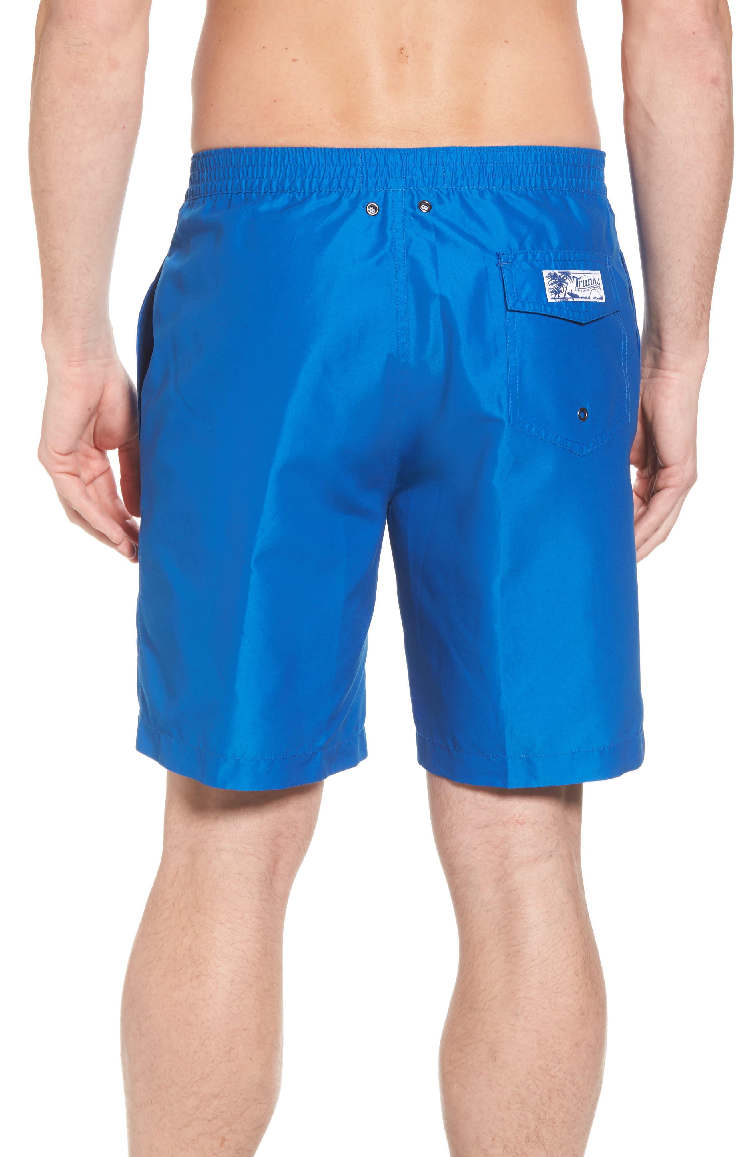 Swami Solid Board Shorts,                             Alternate thumbnail 2, color,                             Nautical Blue/ Marine