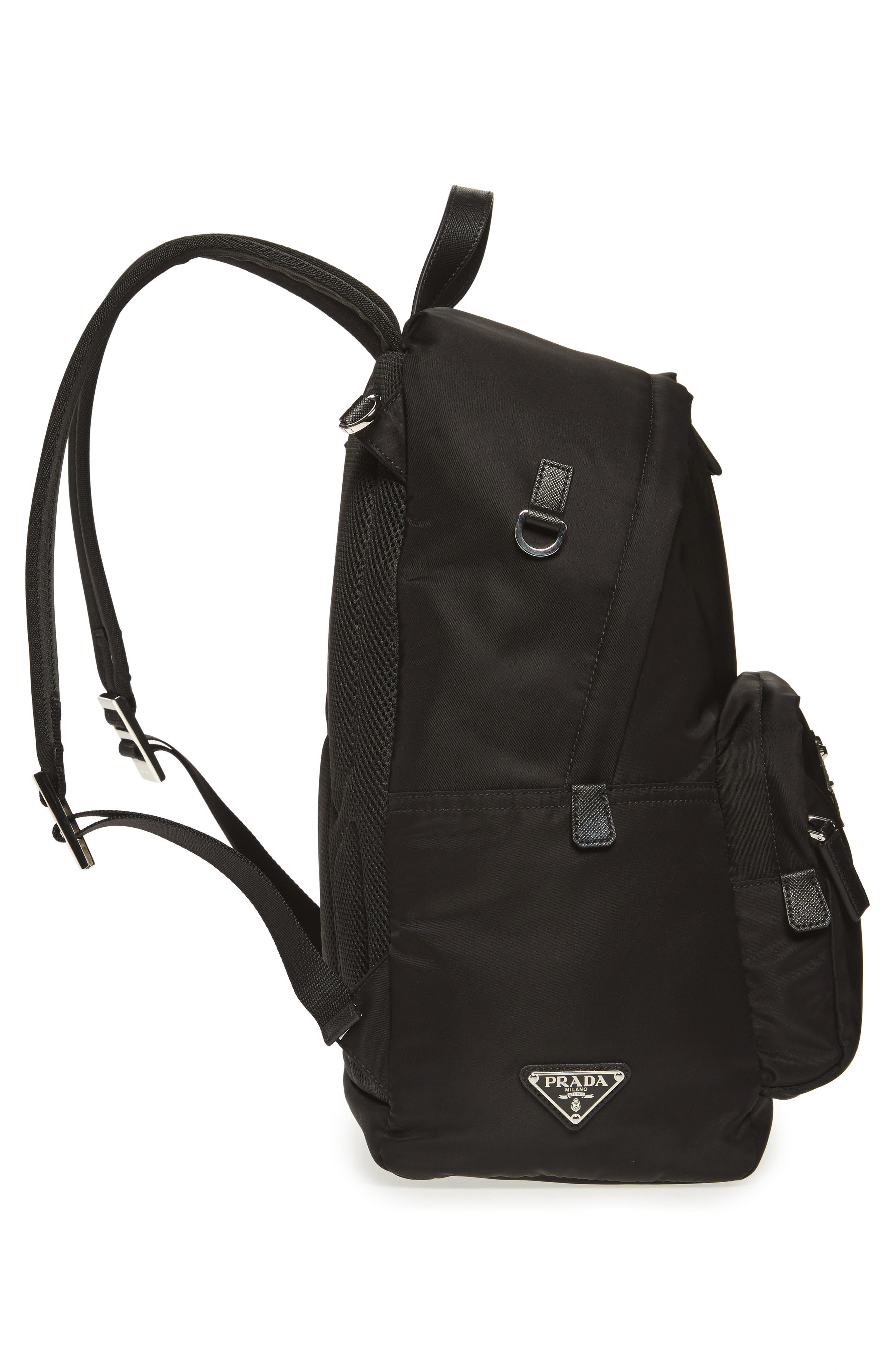 Robot Backpack,                             Alternate thumbnail 4, color,                             F0g52 Nero+Baltic