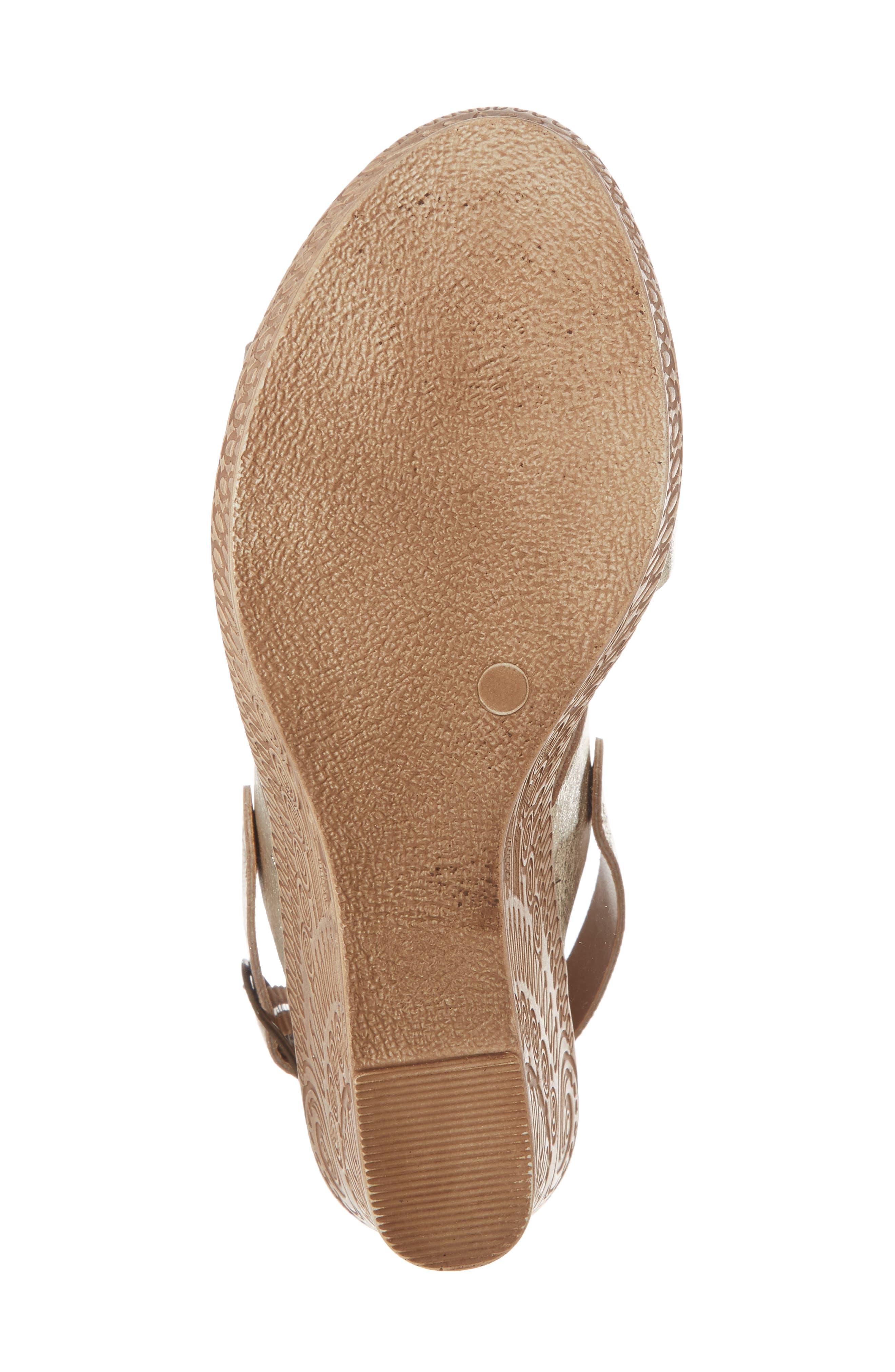 Alternate Image 6  - Bella Vita Cor Wedge Sandal (Women)