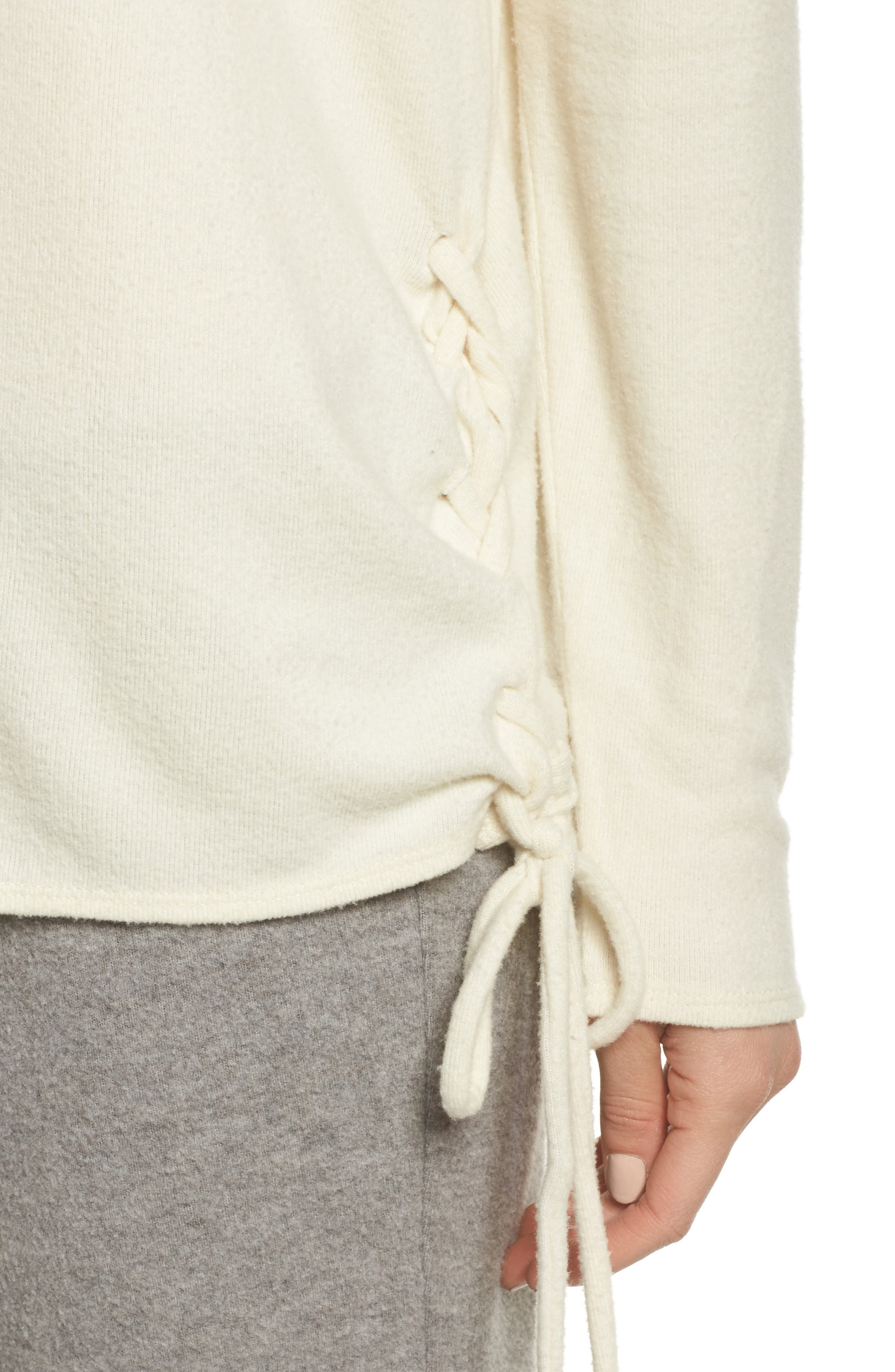 Alternate Image 6  - Chaser Lace-Up Side Pullover