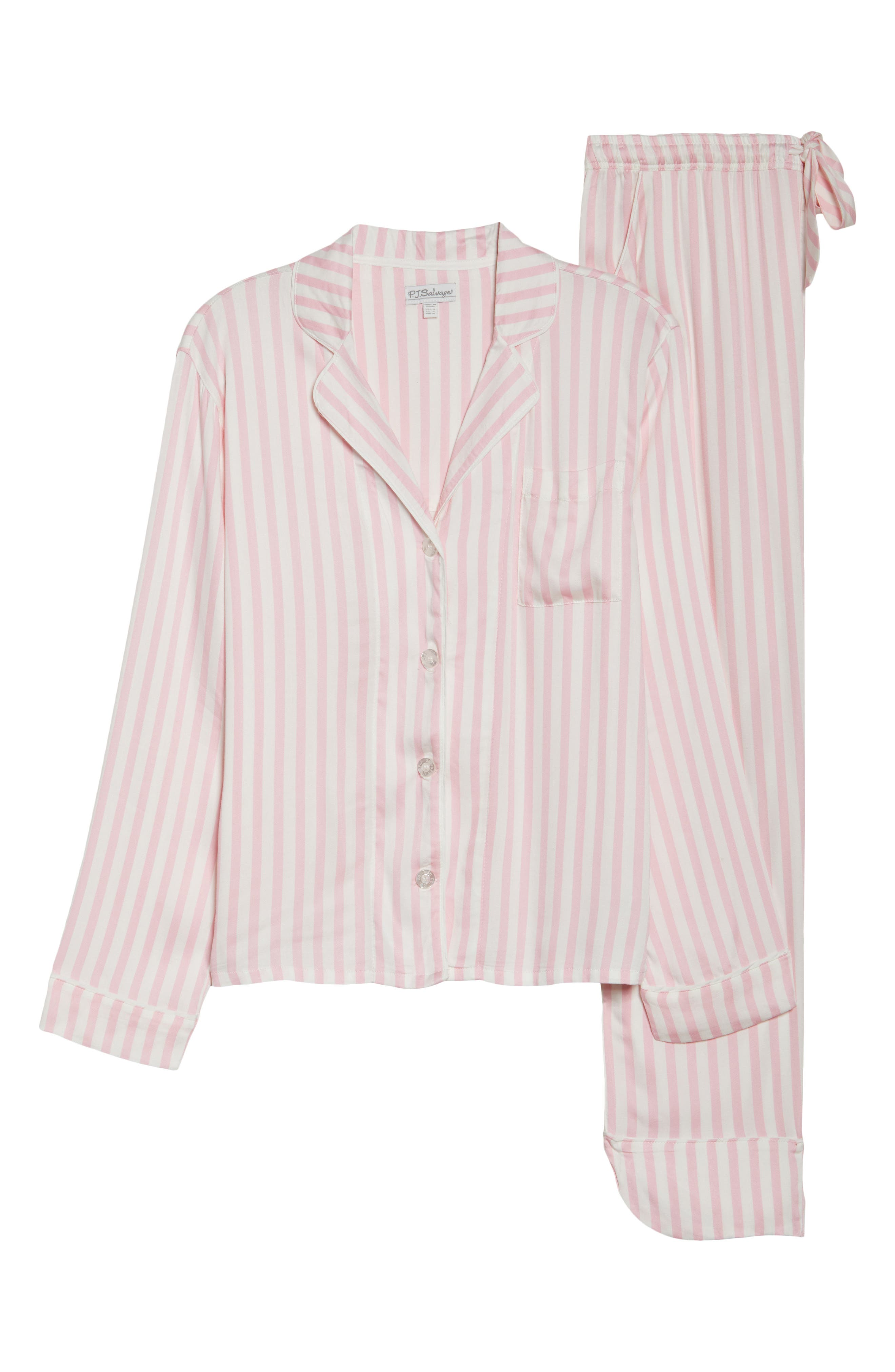 Alternate Image 4  - PJ Salvage Stripe Pajamas