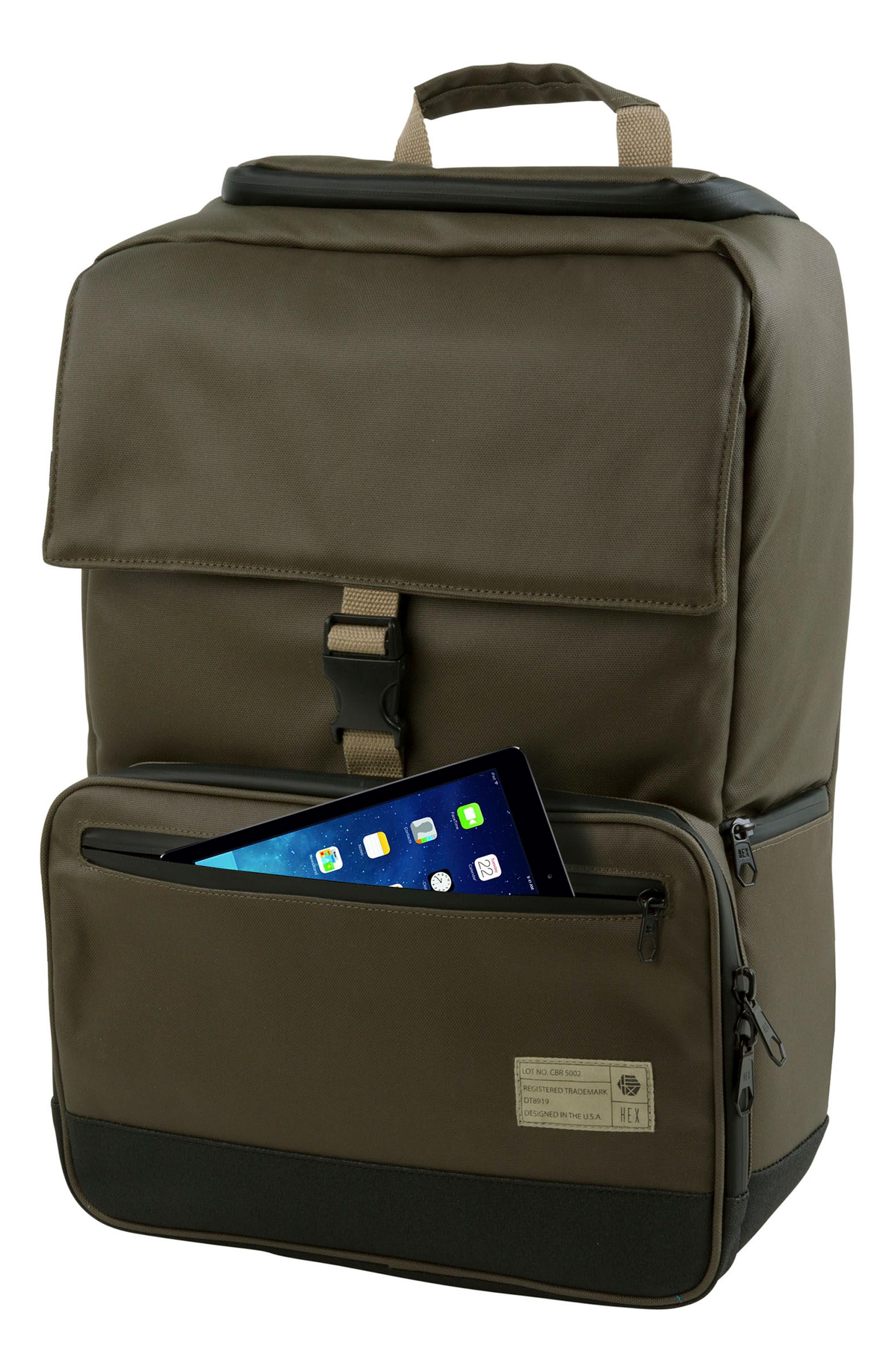 DSLR Camera Backpack,                             Alternate thumbnail 8, color,                             Olive
