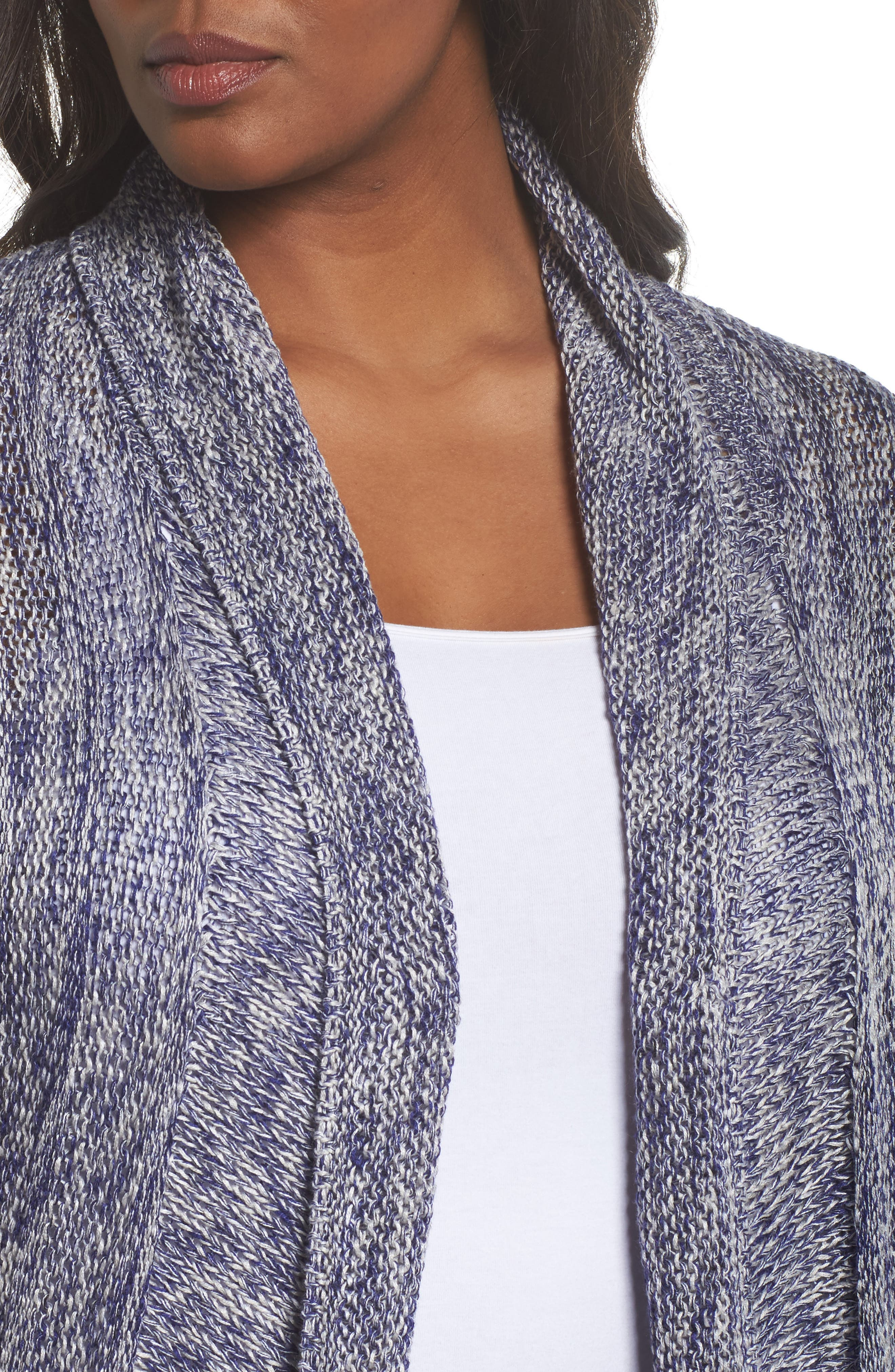 Weather Mix Cardigan,                             Alternate thumbnail 4, color,                             Multi